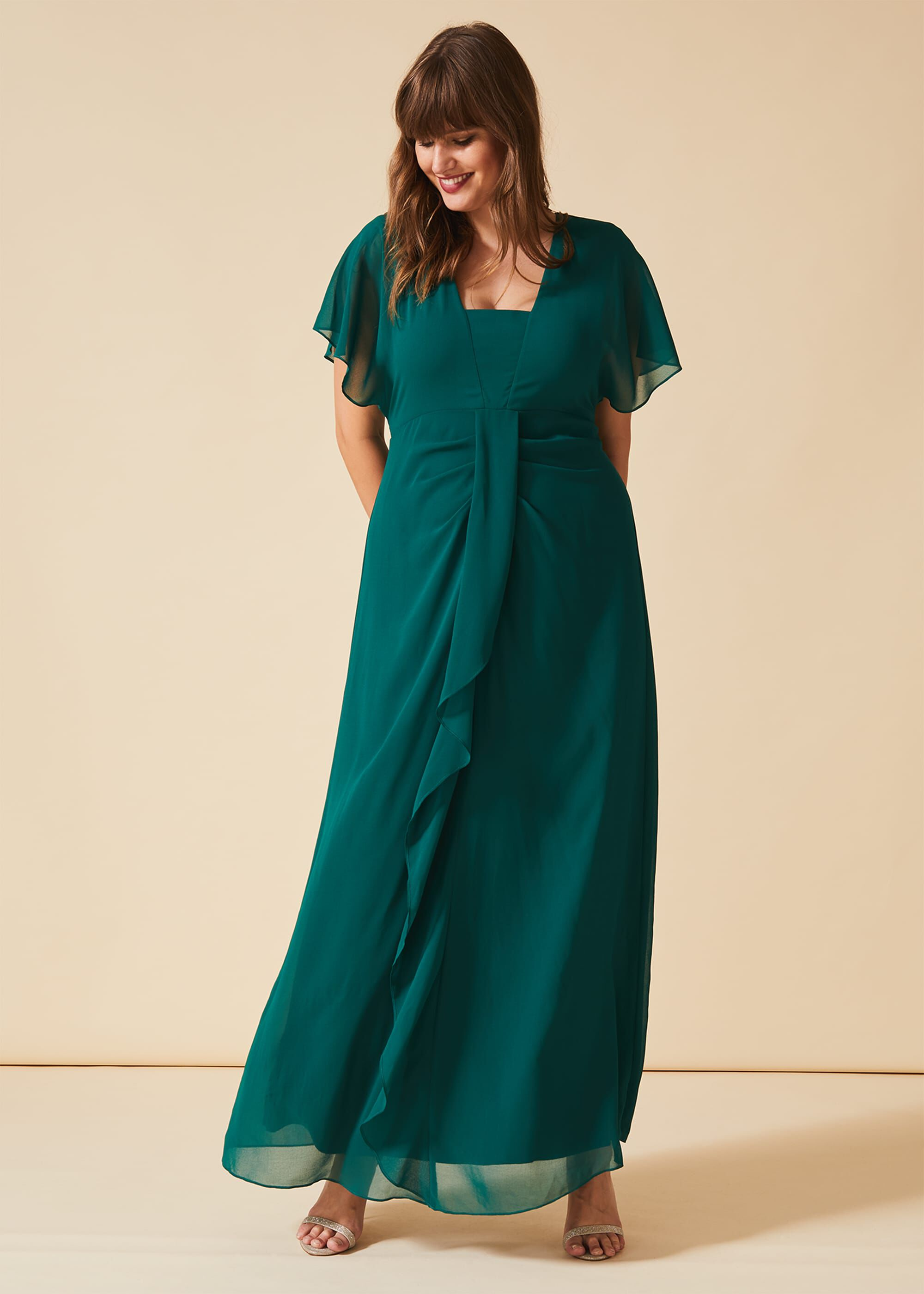 Studio 8 Olympia Maxi Dress, Green, Maxi, Occasion Dress