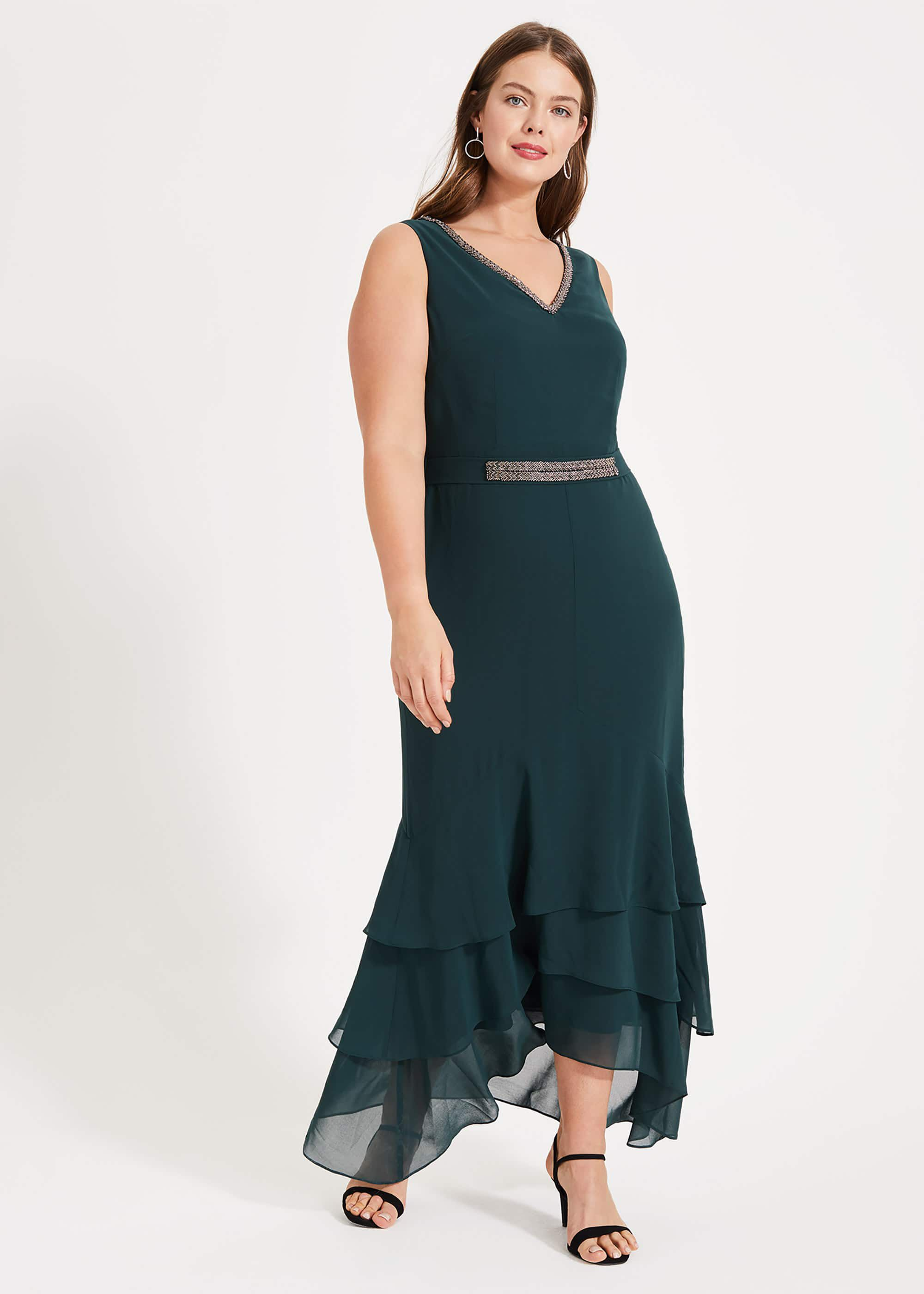 Studio 8 Valentina Maxi Dress, Green, Maxi