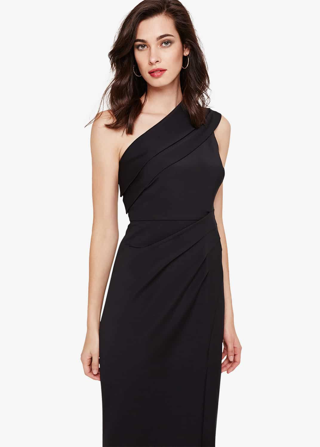 Damsel in a Dress Samira Maxi Dress, Black