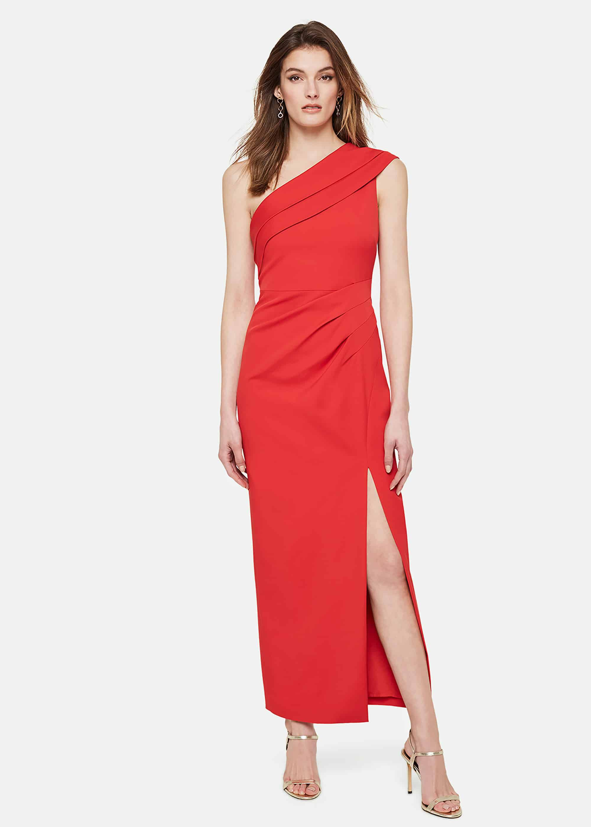 Damsel in a Dress Samira Maxi Dress, Red