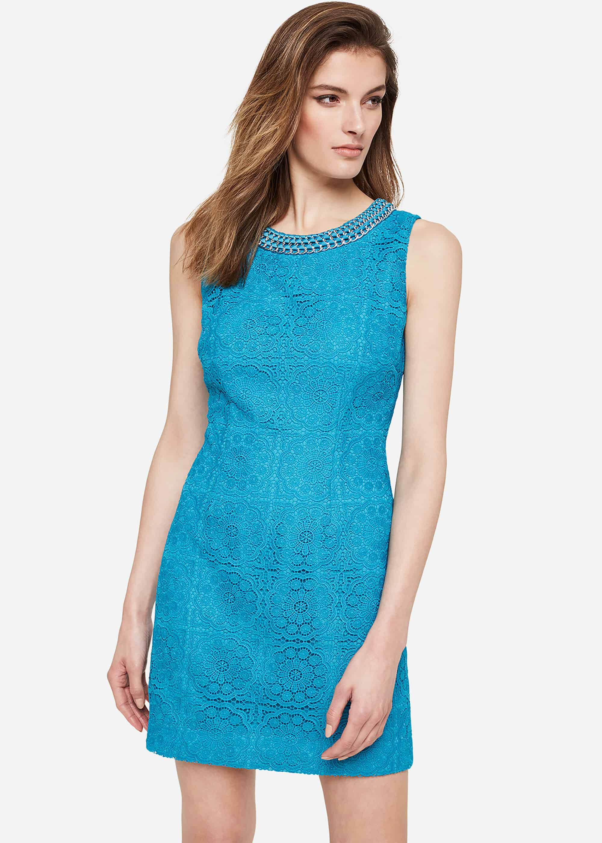 Damsel in a Dress Marea Lace Dress, Blue