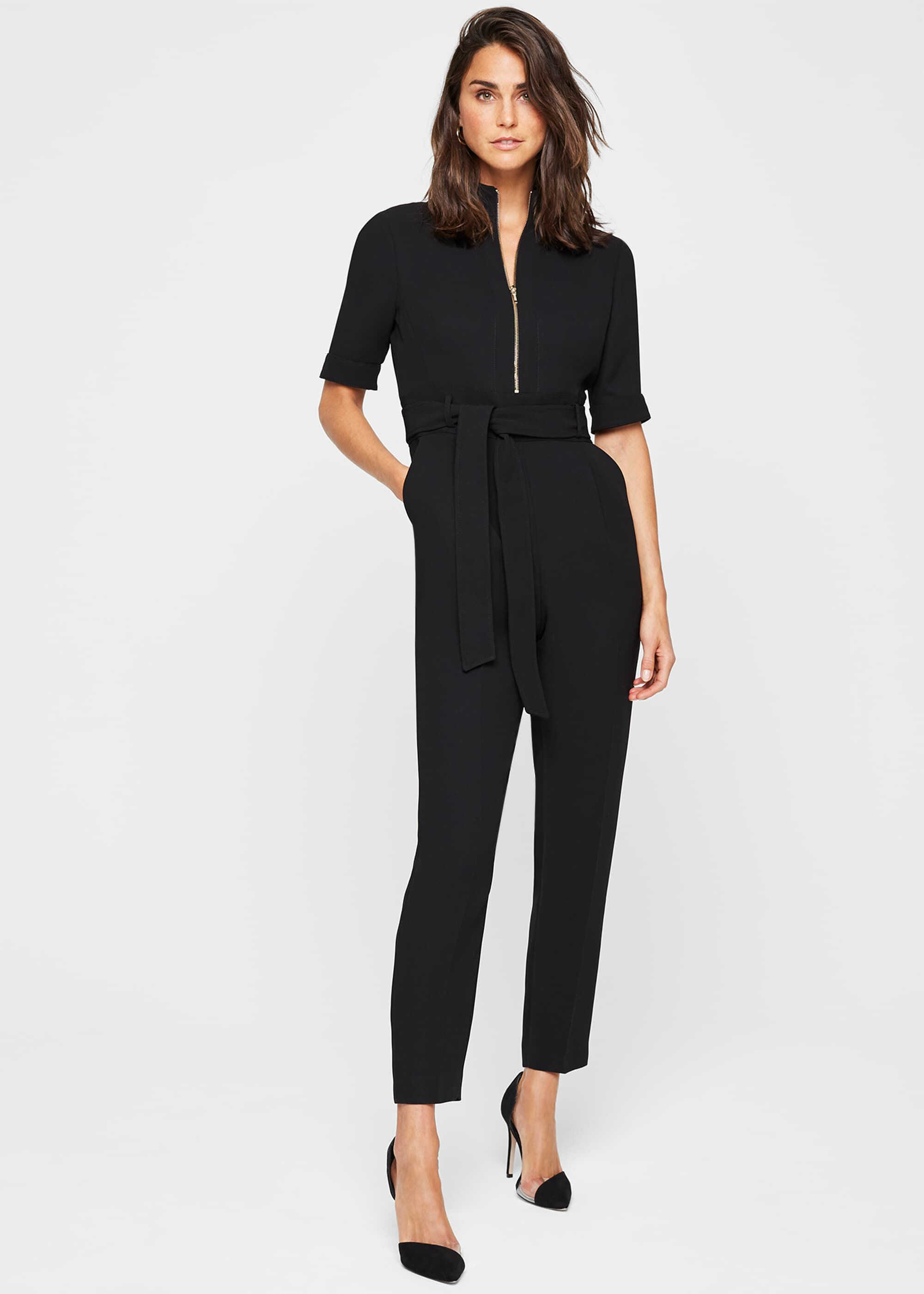 Damsel in a Dress Lydia City Suit Jumpsuit, Black