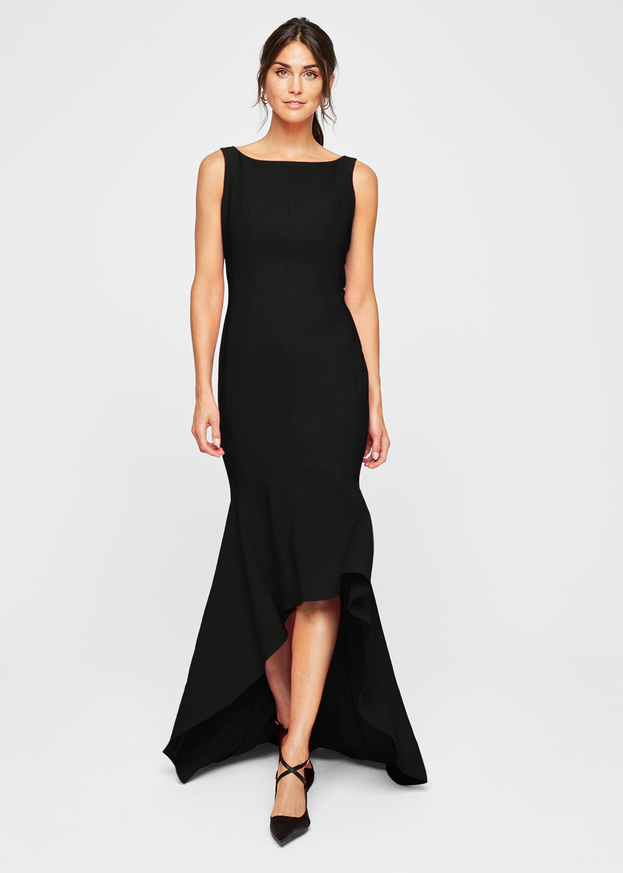 Damsel in a Dress Leela Maxi Dress, Black, Occasion Dress