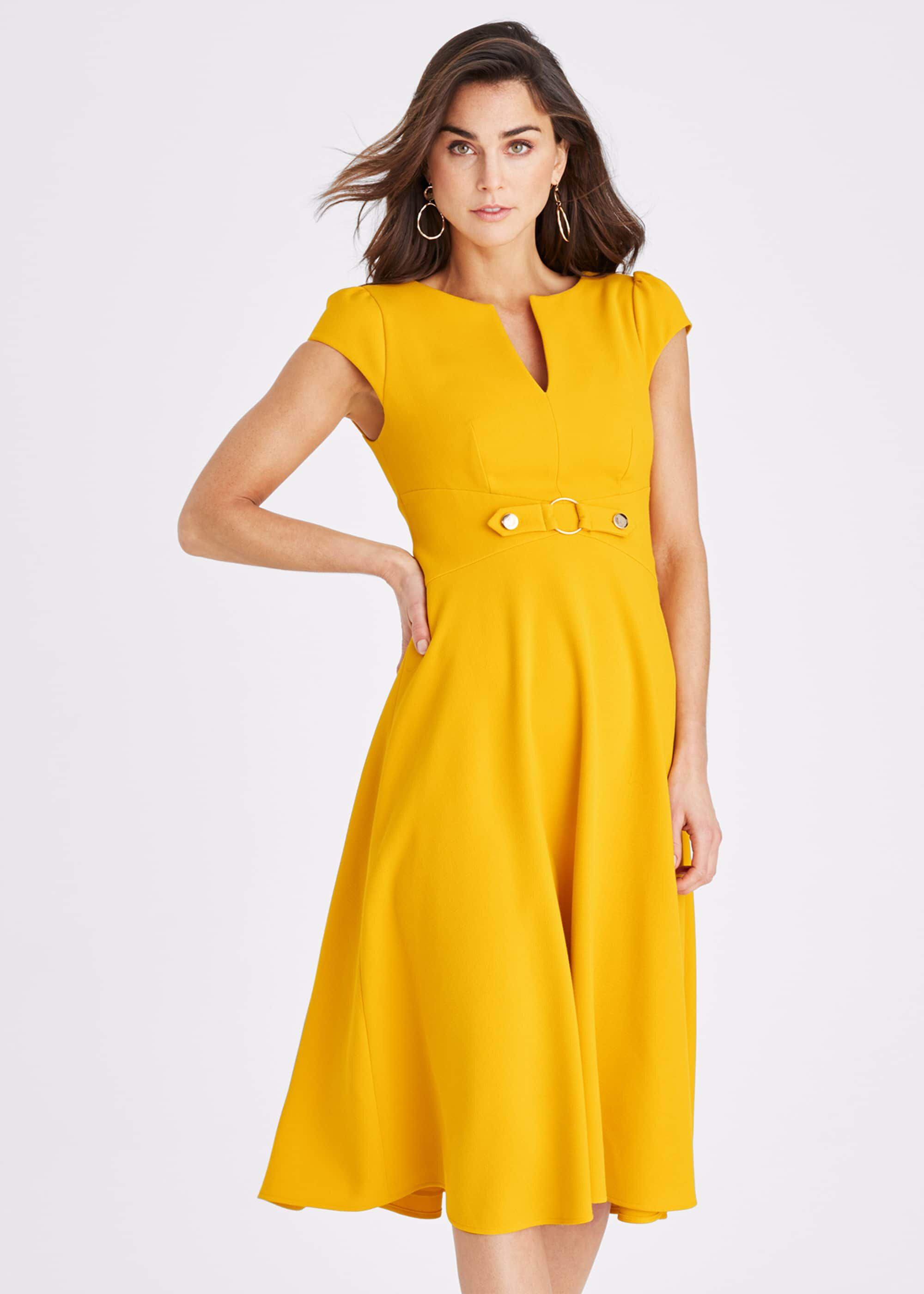 Damsel in a Dress Tilly Dress, Yellow