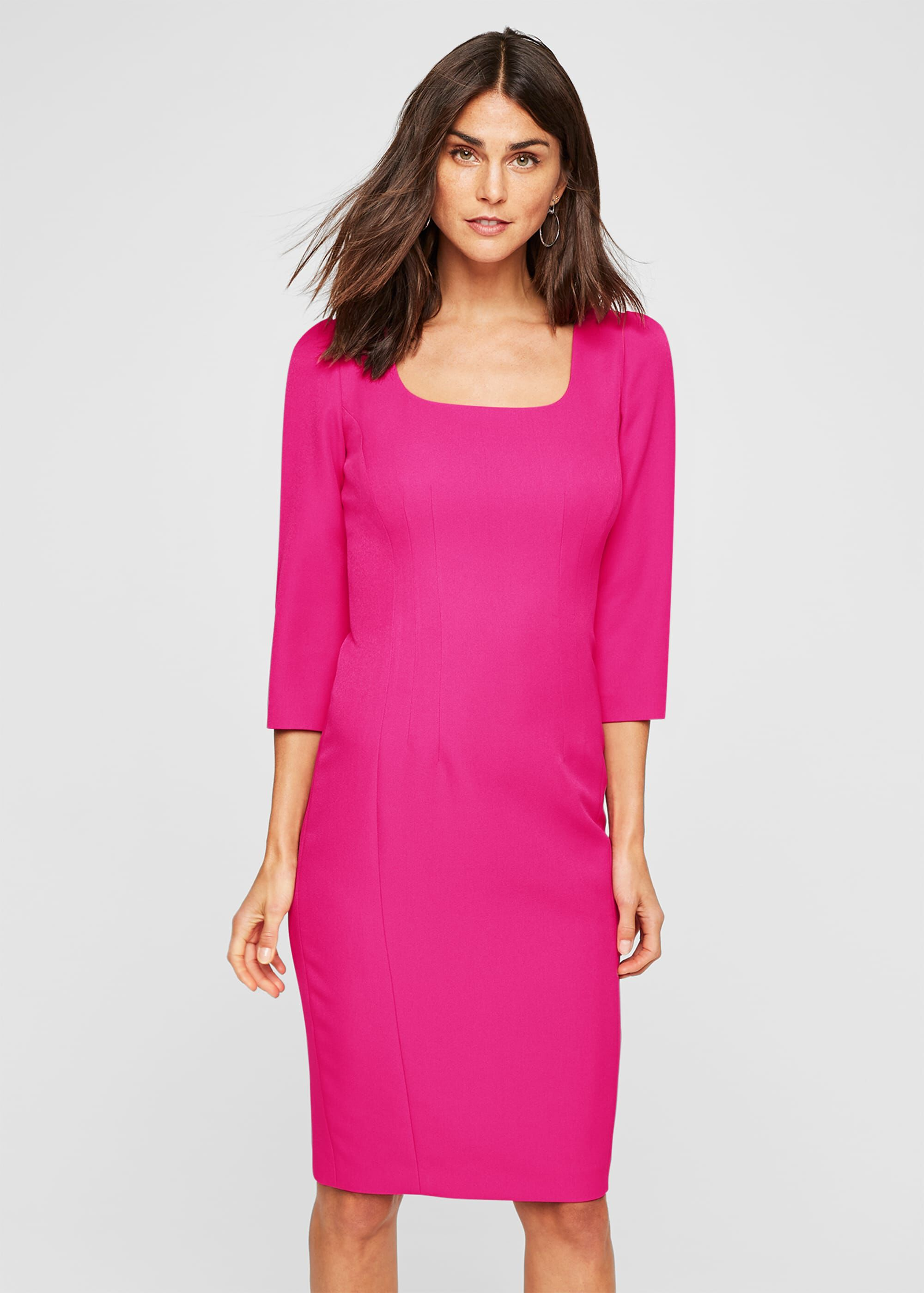 Damsel in a Dress Sheridan Sleeved Dress, Pink