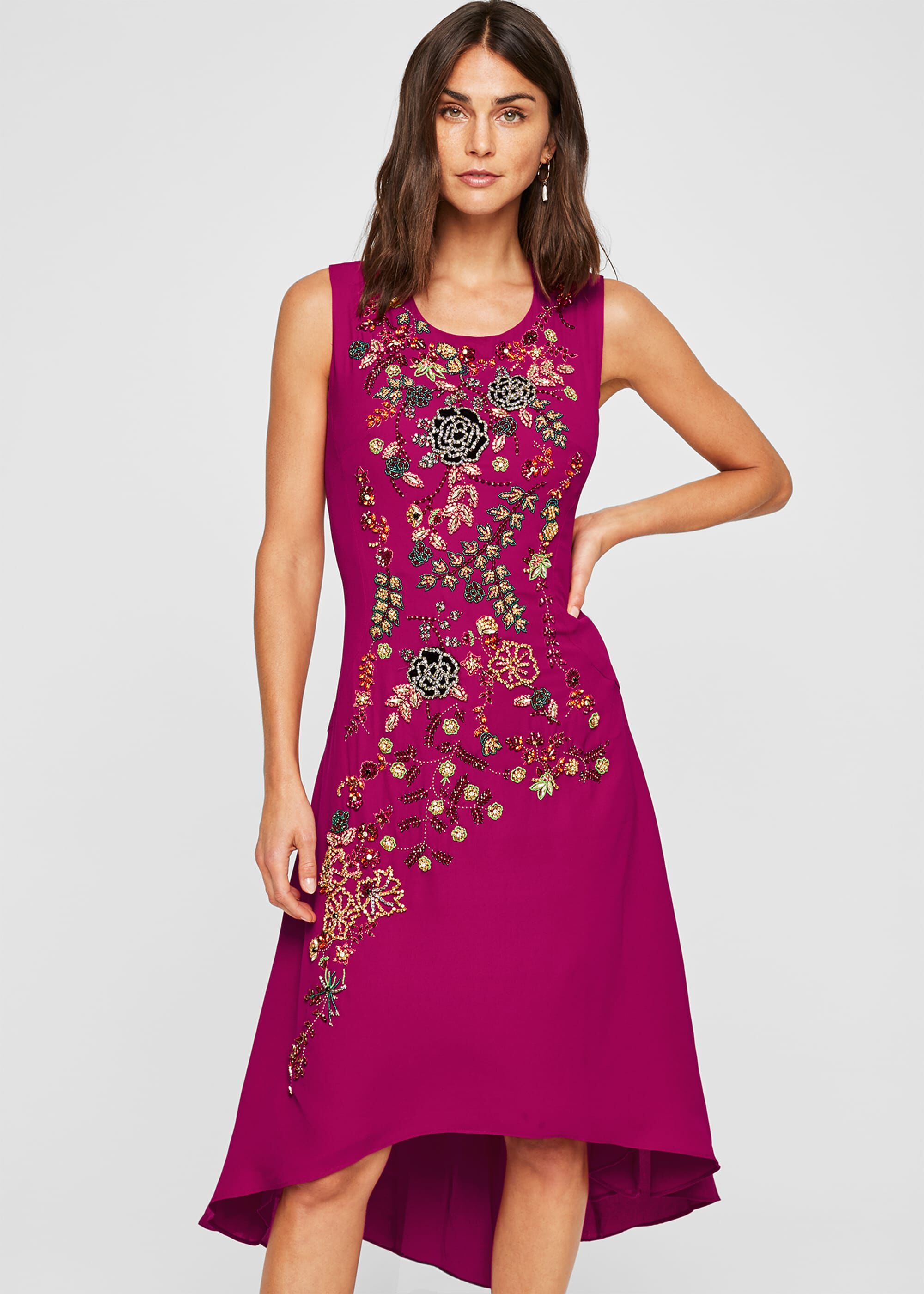 Damsel in a Dress Cossima Beaded Dress, Multicoloured