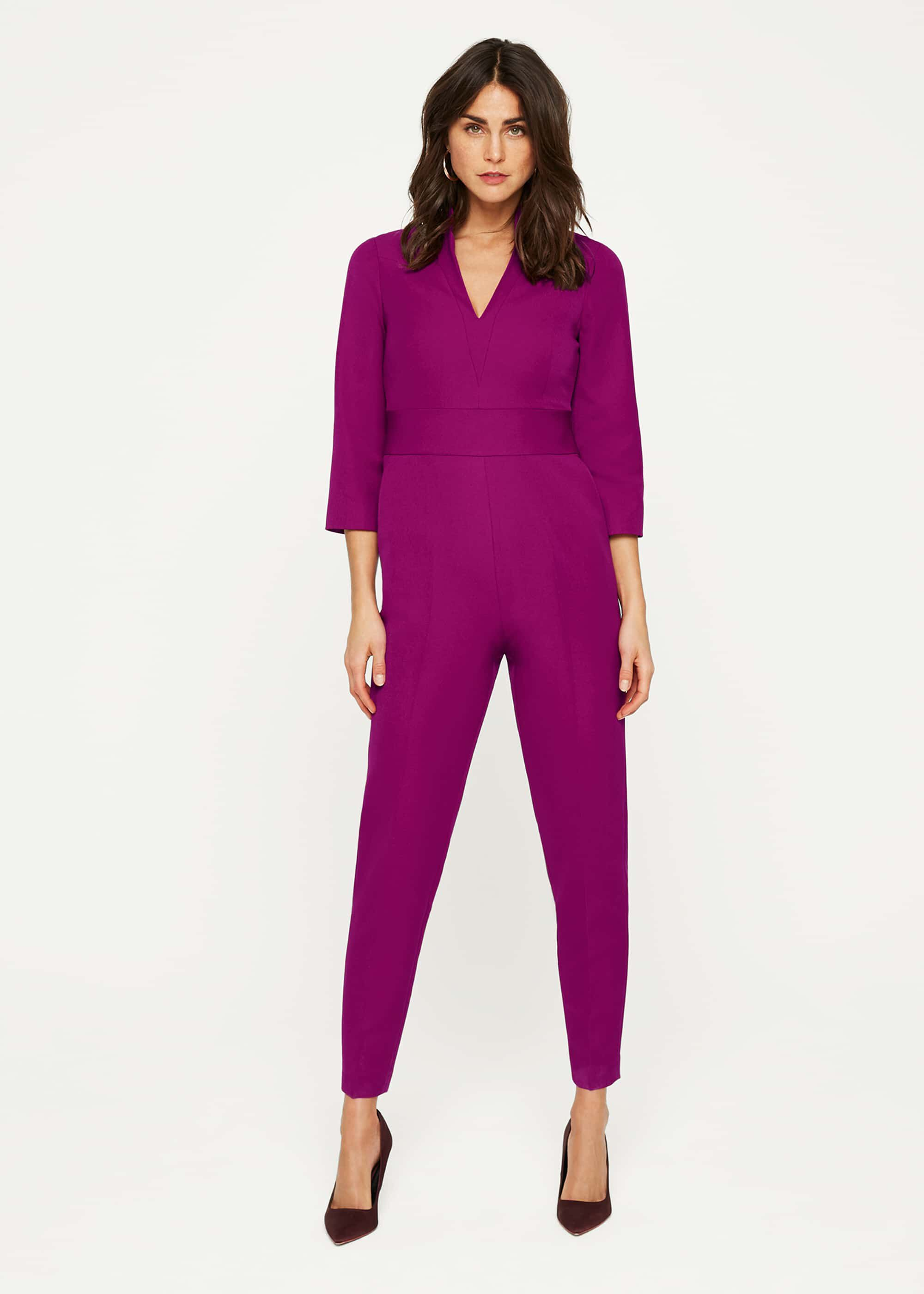 Damsel in a Dress Dayna Jumpsuit, Purple, Occasion Dress