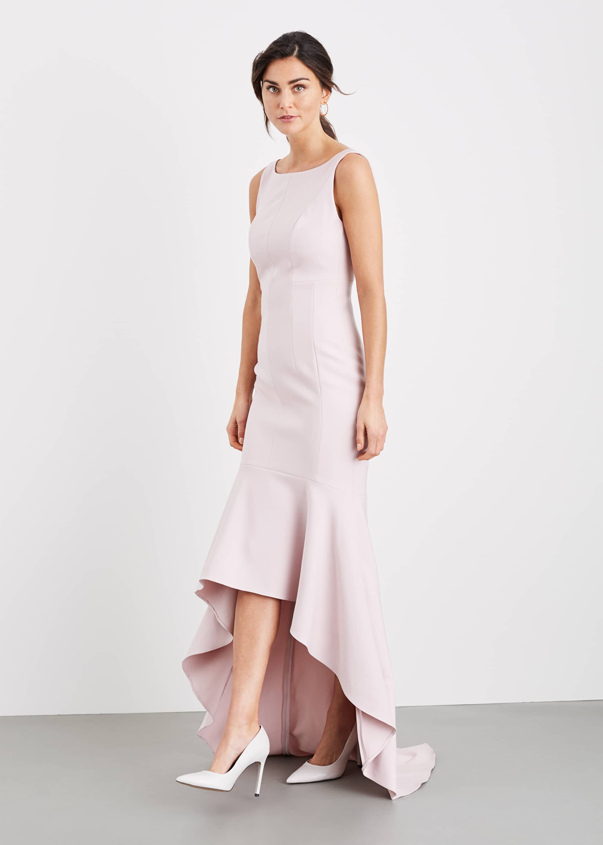 Damsel in a Dress Leela Maxi Dress, Pink, Occasion Dress