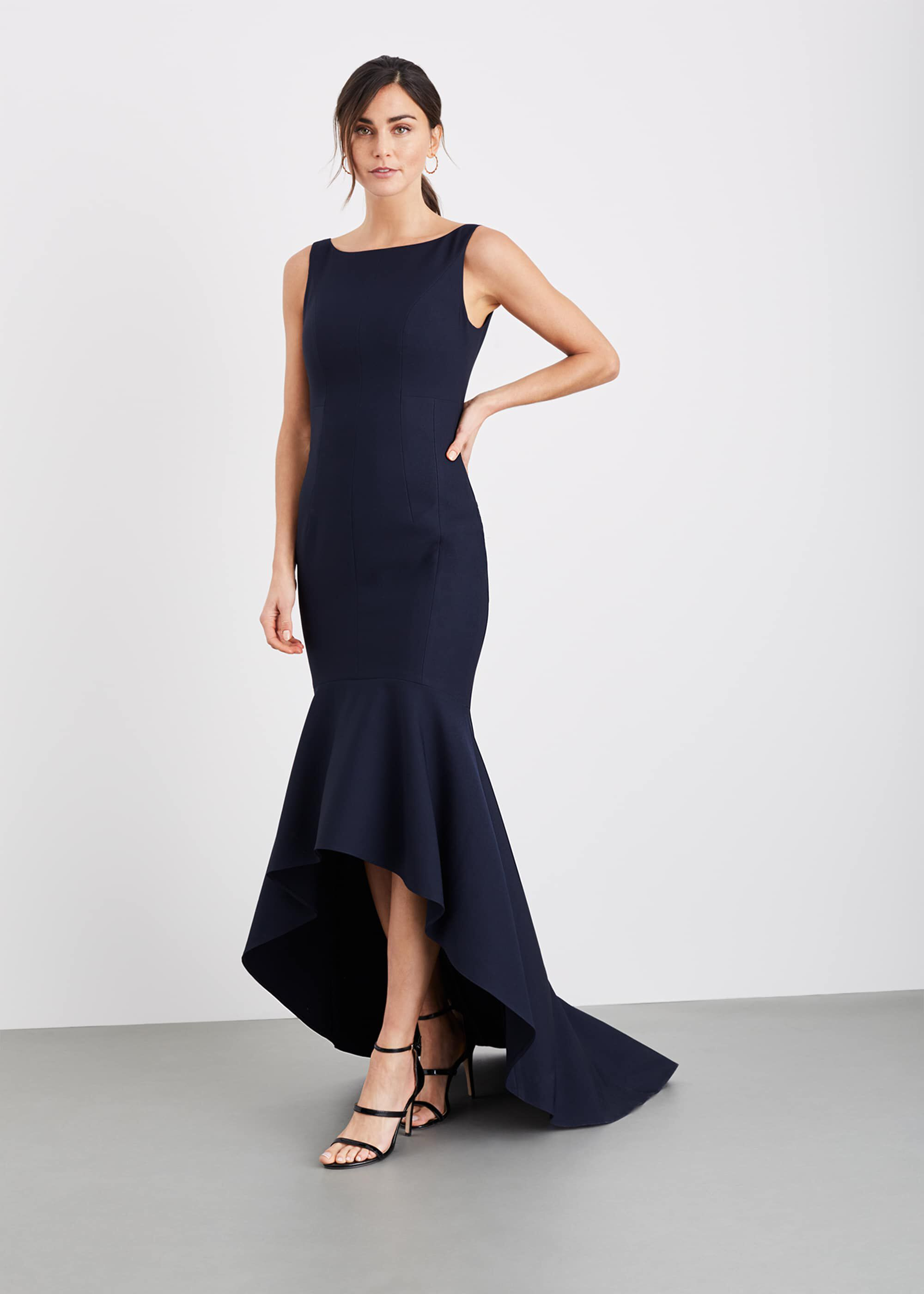 Damsel in a Dress Leela Maxi Dress, Blue, Occasion Dress