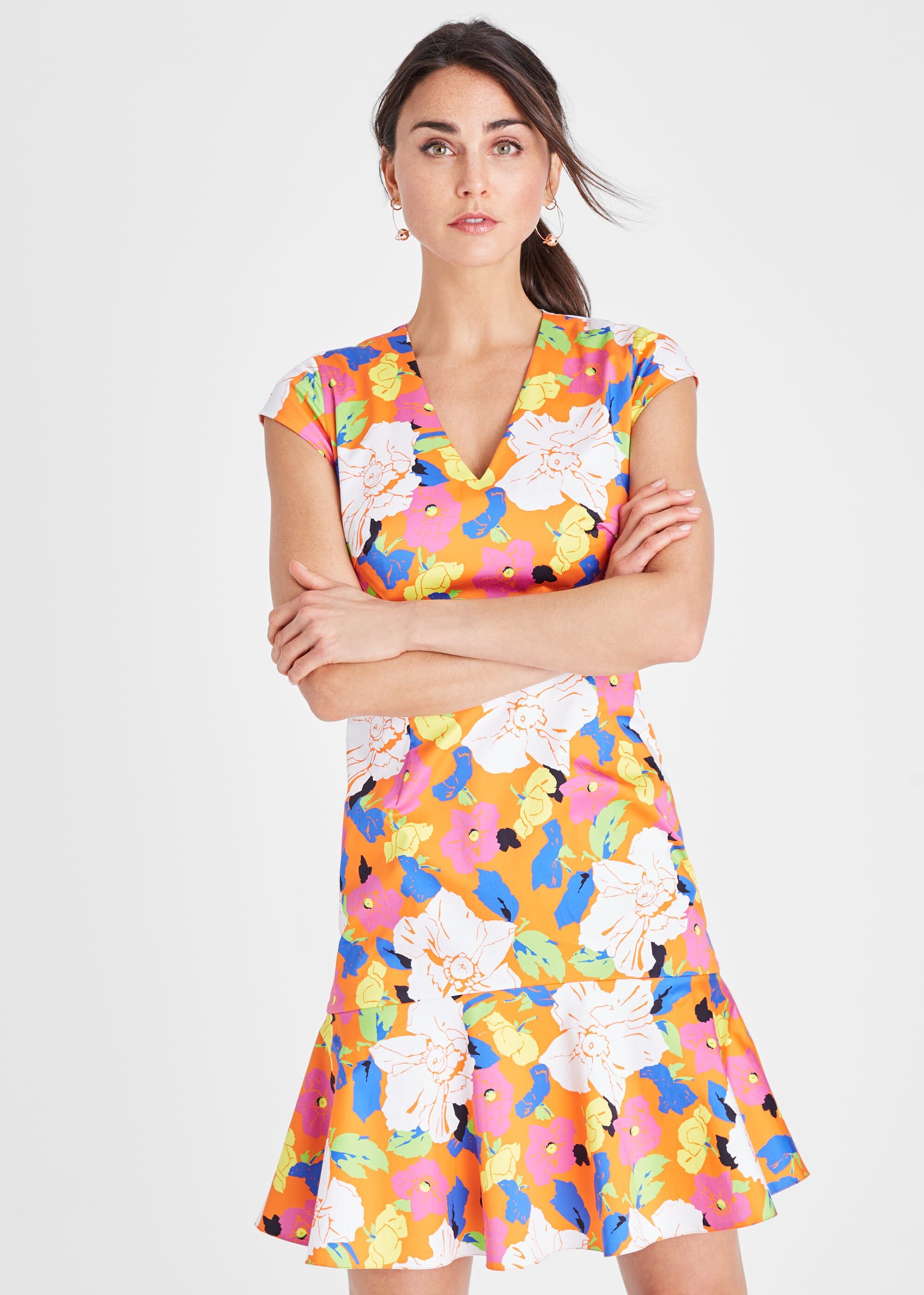 Damsel in a Dress Sietta Floral Dress, Multicoloured, Occasion Dress