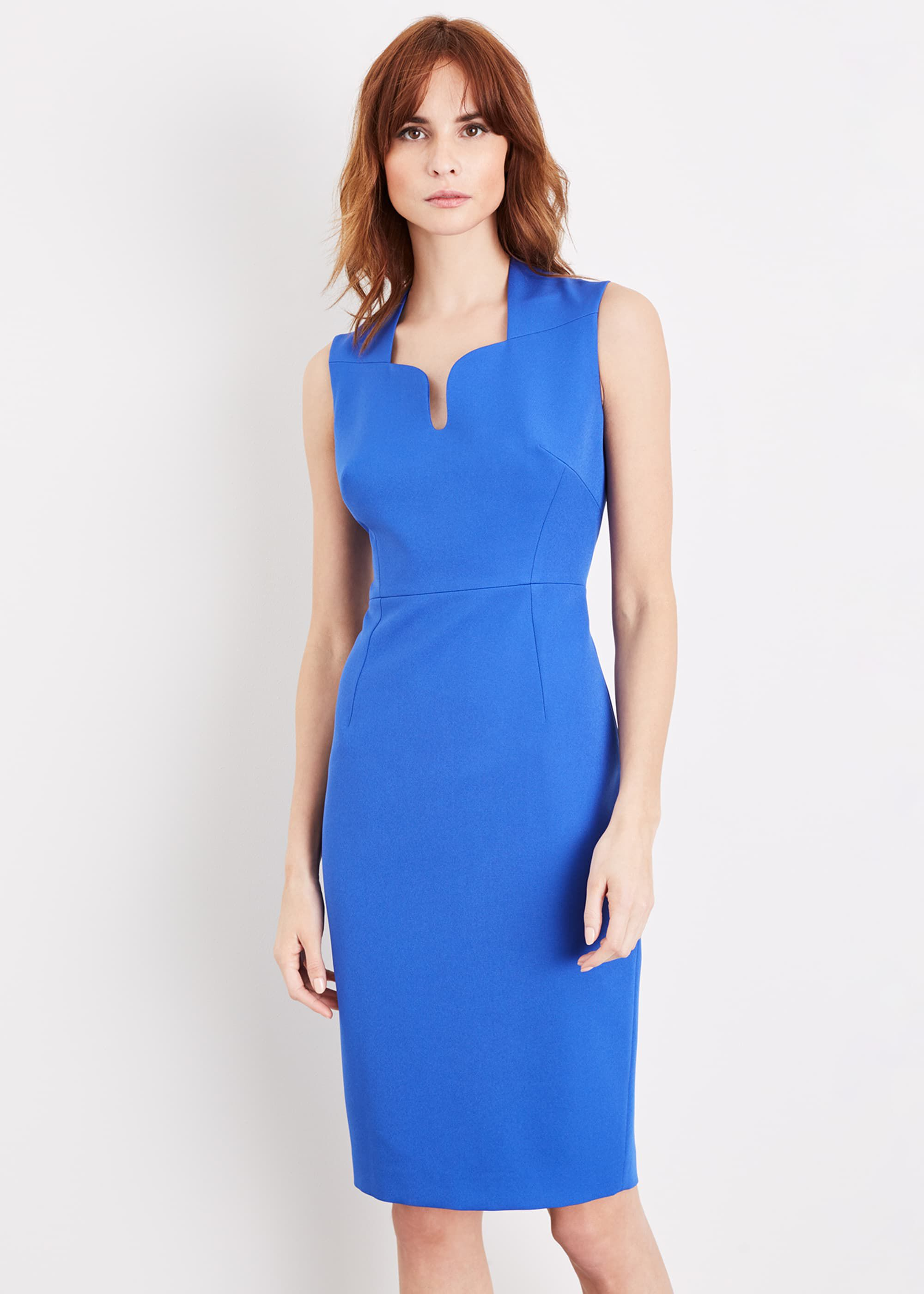 Damsel in a Dress Trini Fitted Dress, Blue, Occasion Dress