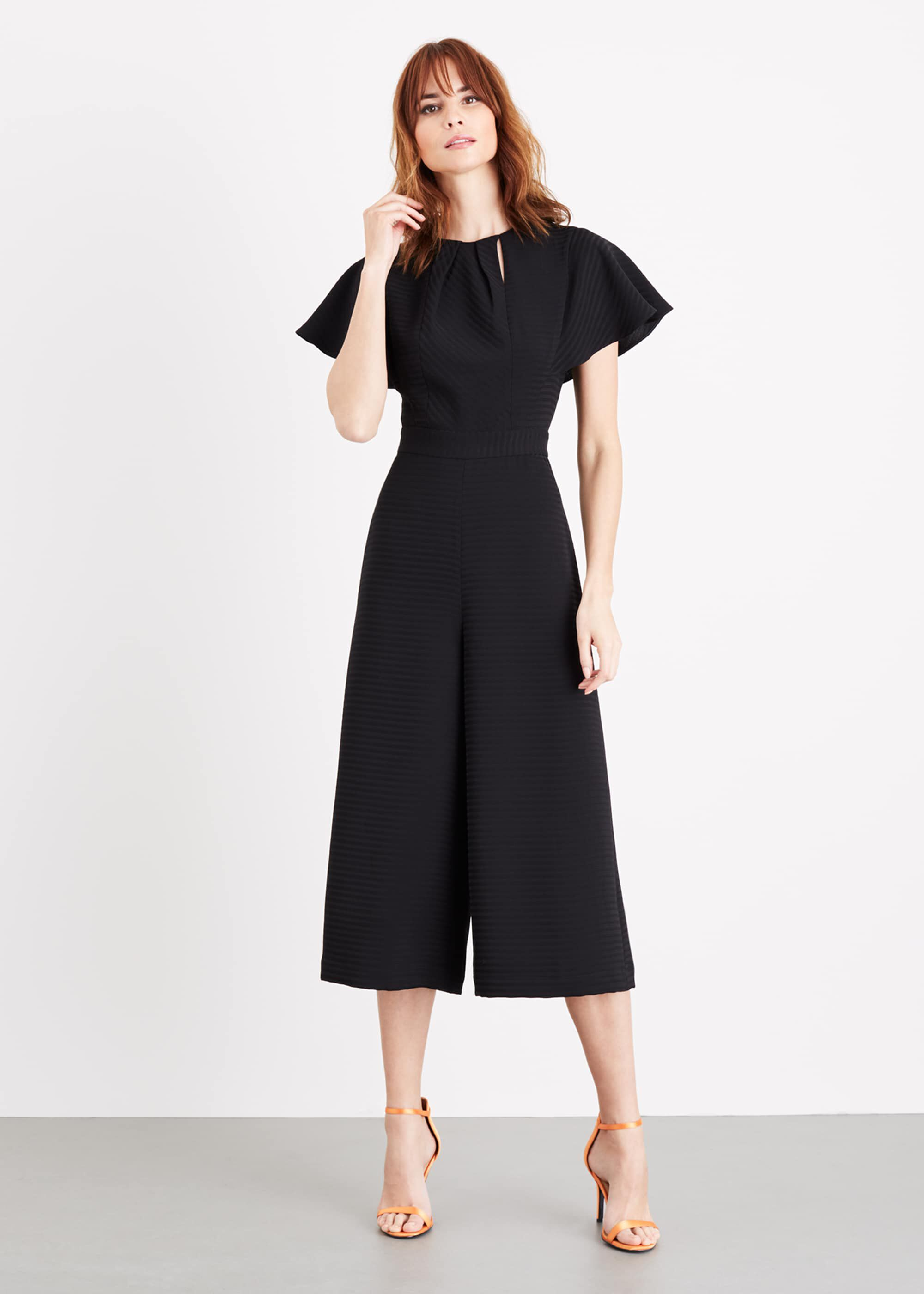 Damsel in a Dress Bessie Culotte Jumpsuit, Black