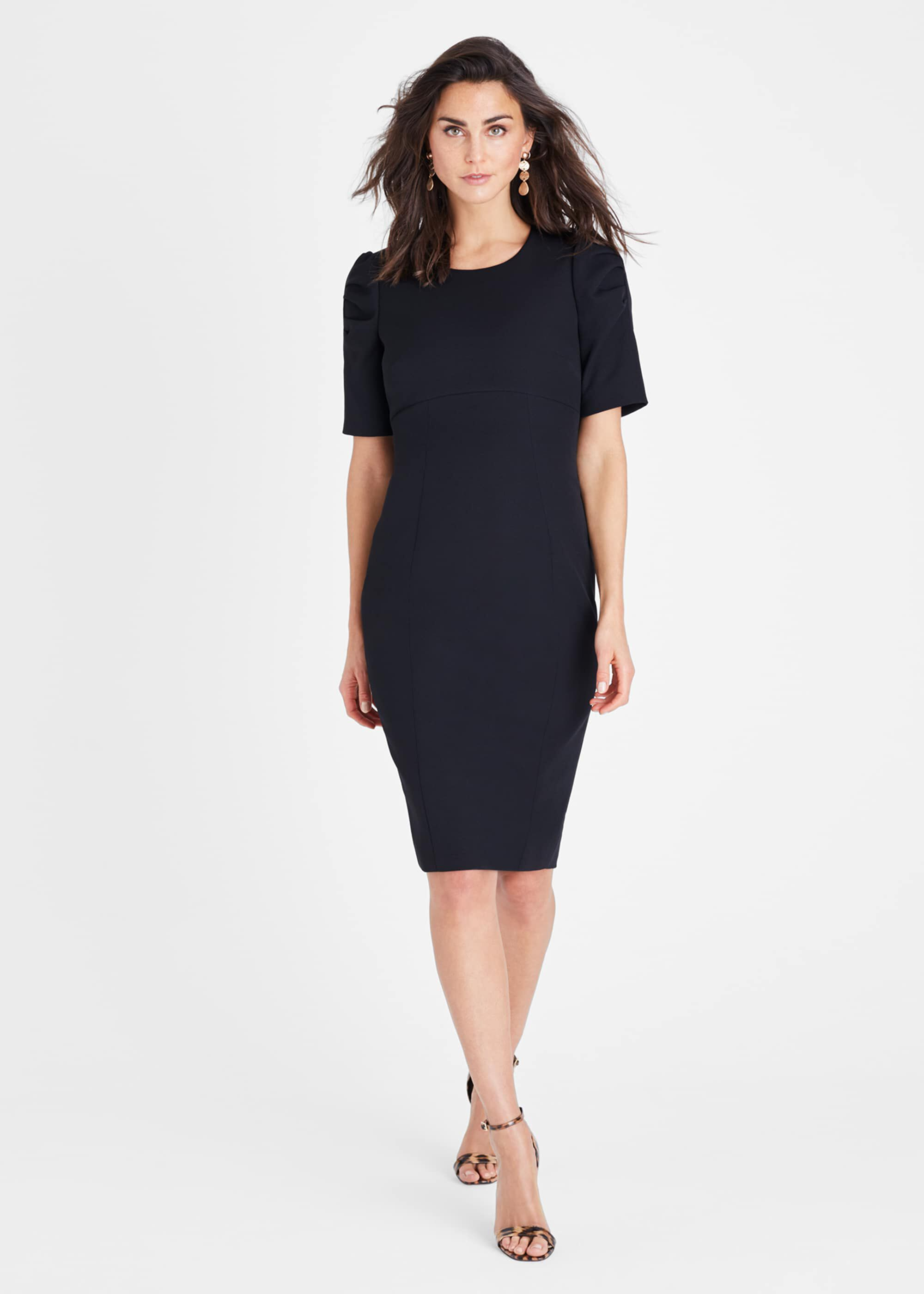 Damsel in a Dress Ella-Mai Fitted Dress, Black, Occasion Dress