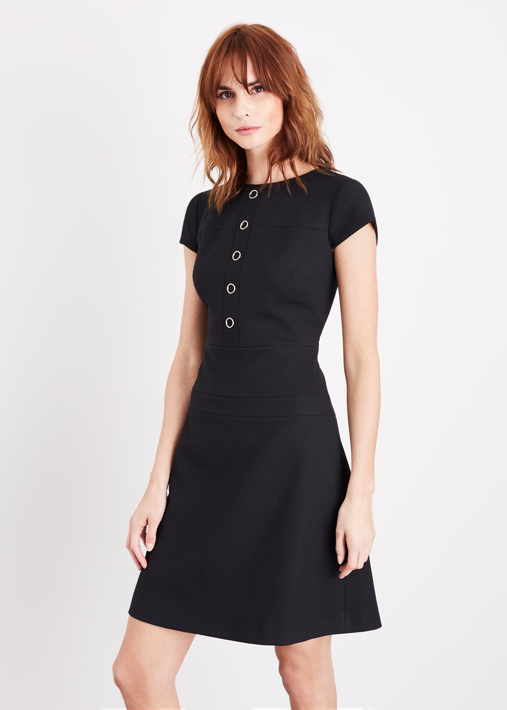 Damsel in a Dress Aymel Dress, Black