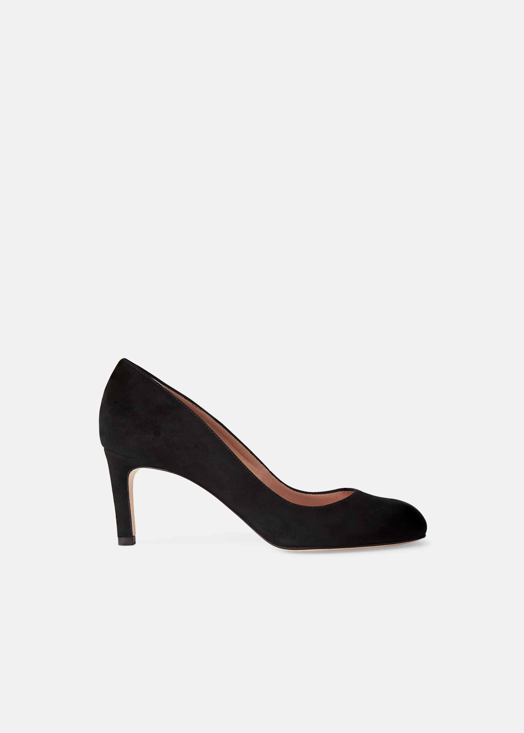 Hobbs Sophia Court Shoe, Black
