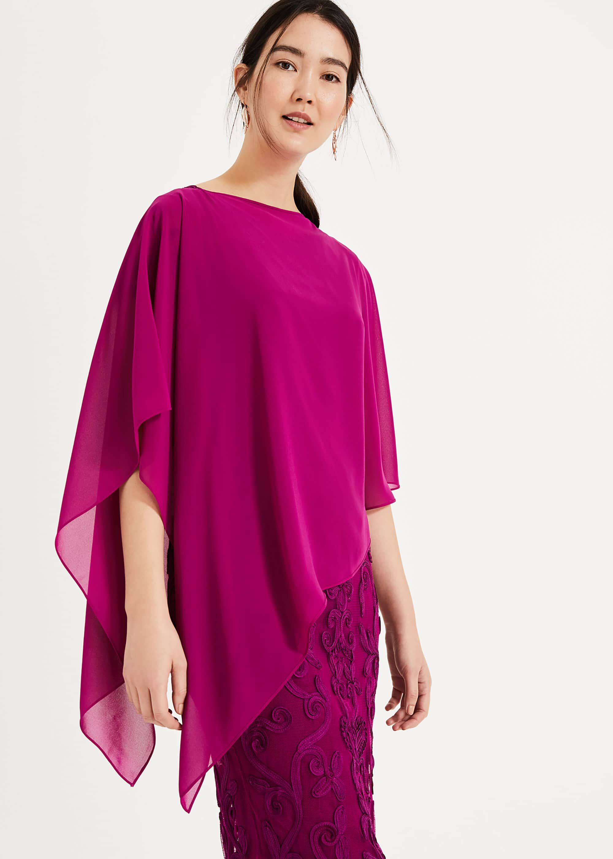 Phase Eight Sinead Cover Up, Purple, Wrap