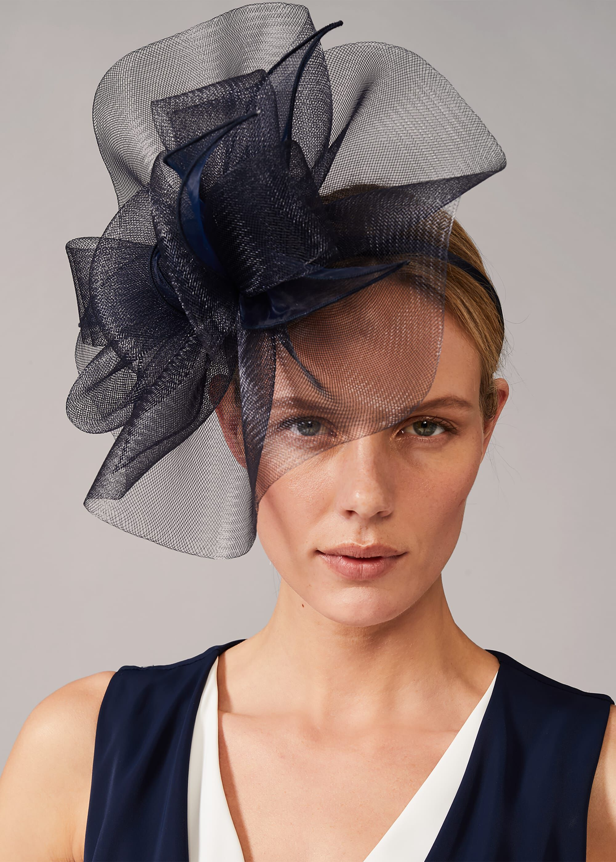 Phase Eight Rheeta Headband, Blue, Hat