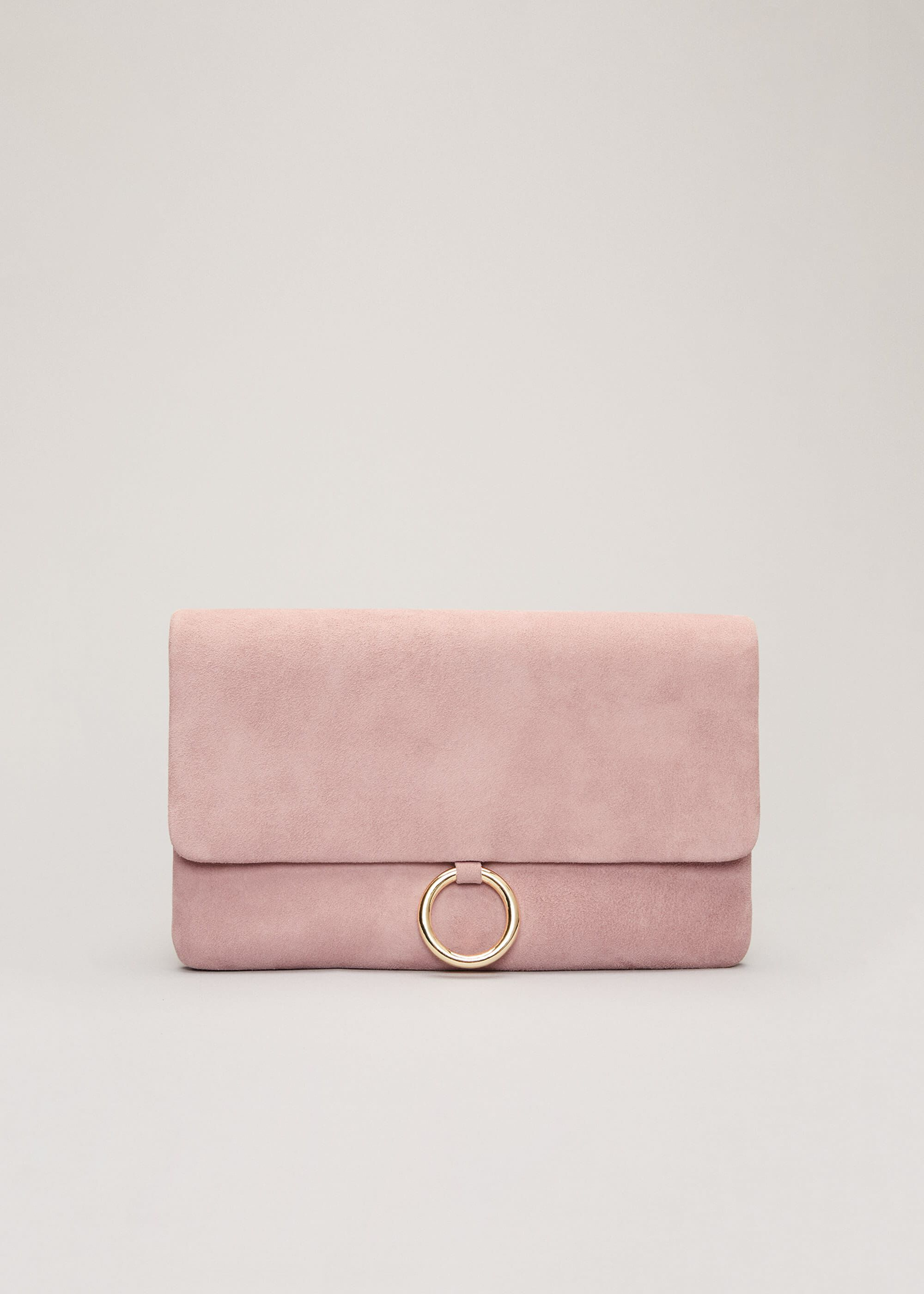 Phase Eight Giselle Clutch Bag, Pink, Bag