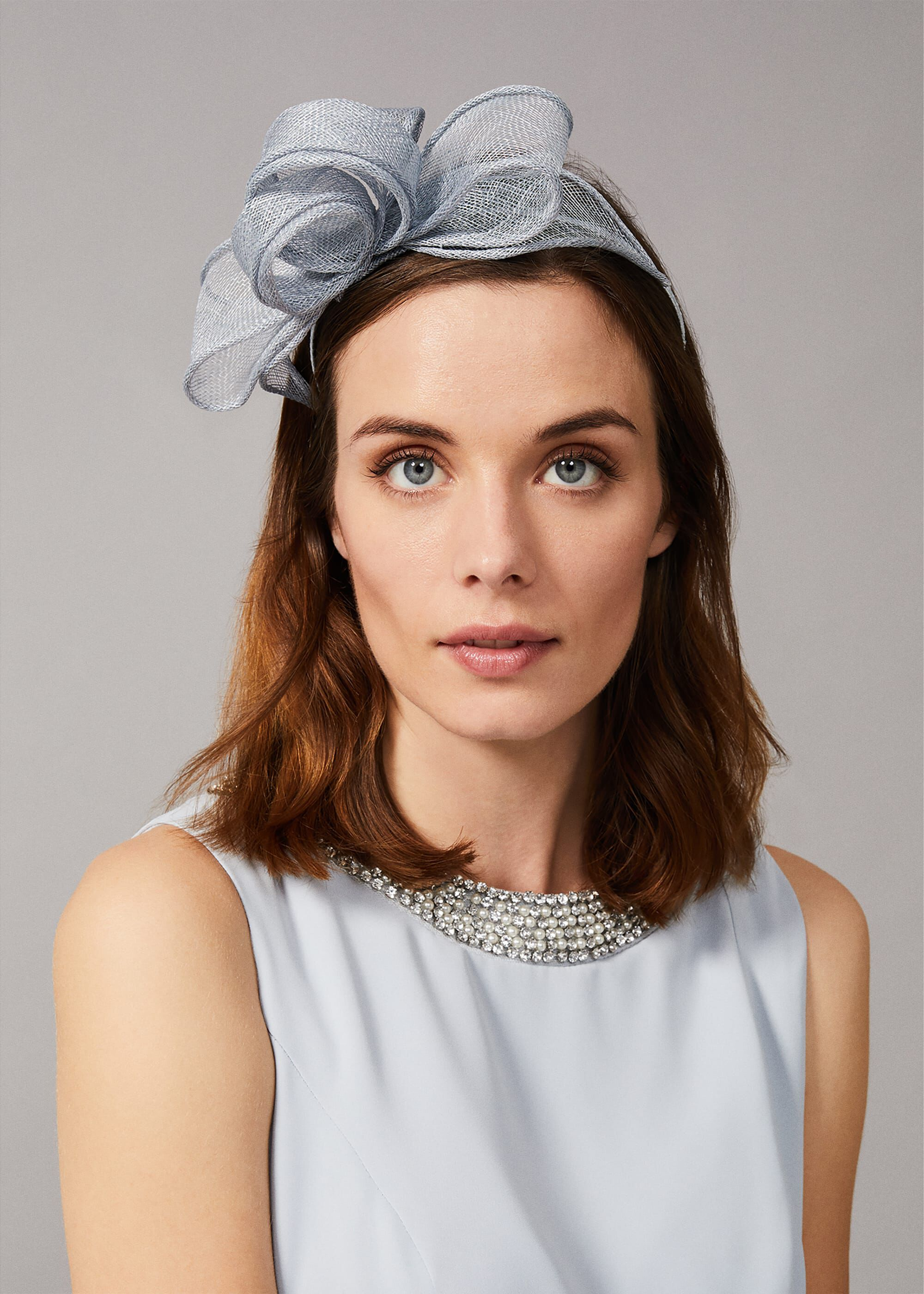 Phase Eight Aika Headband, Green, Fascinator