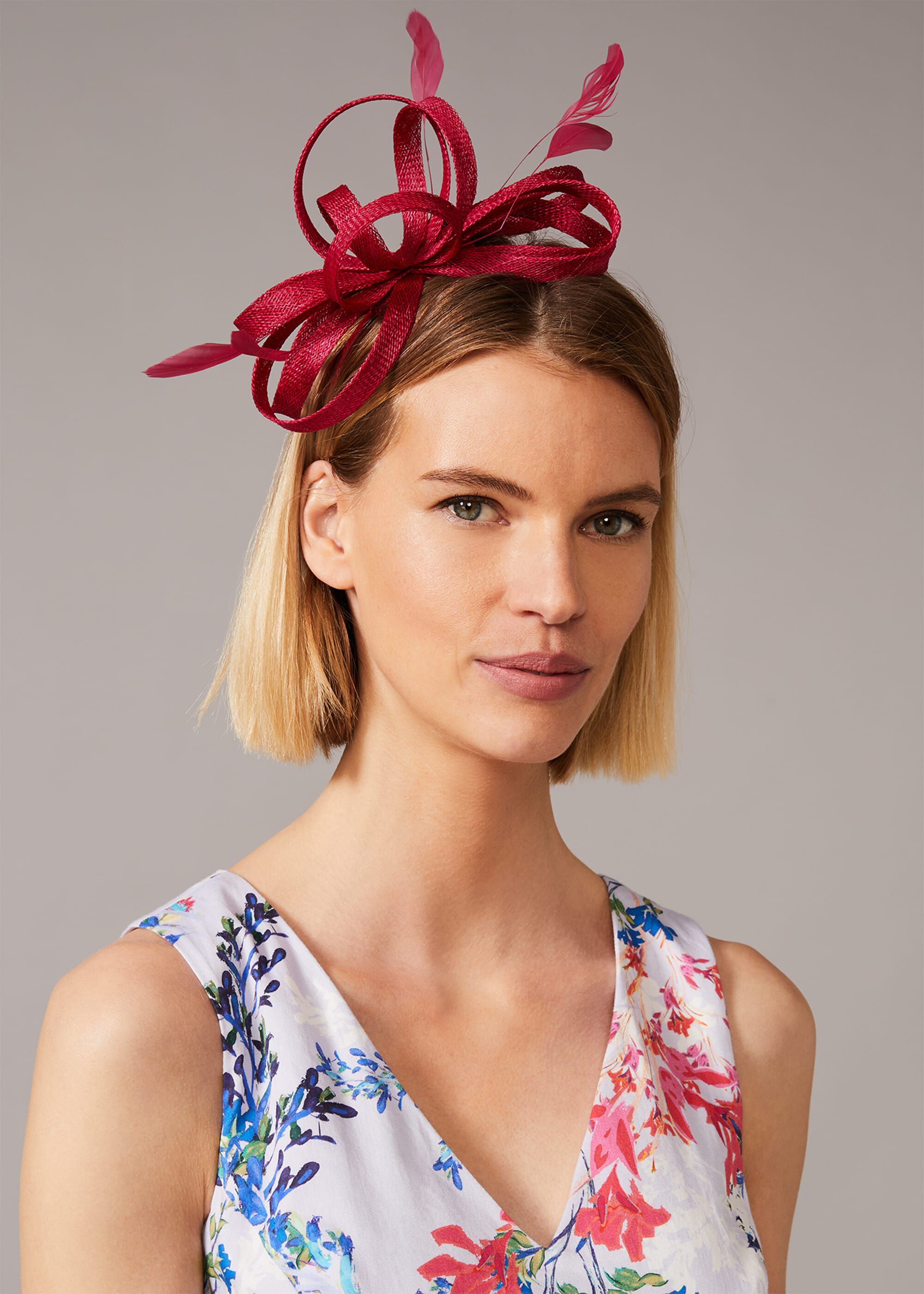 Phase Eight Tabitha Headband Fascinator, Pink, Fascinator