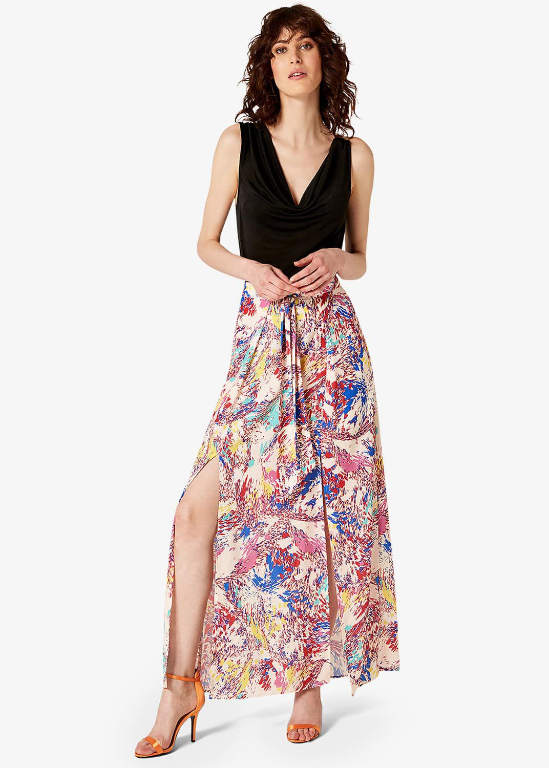Damsel in a Dress Audrina Print Maxi Skirt, Multicoloured