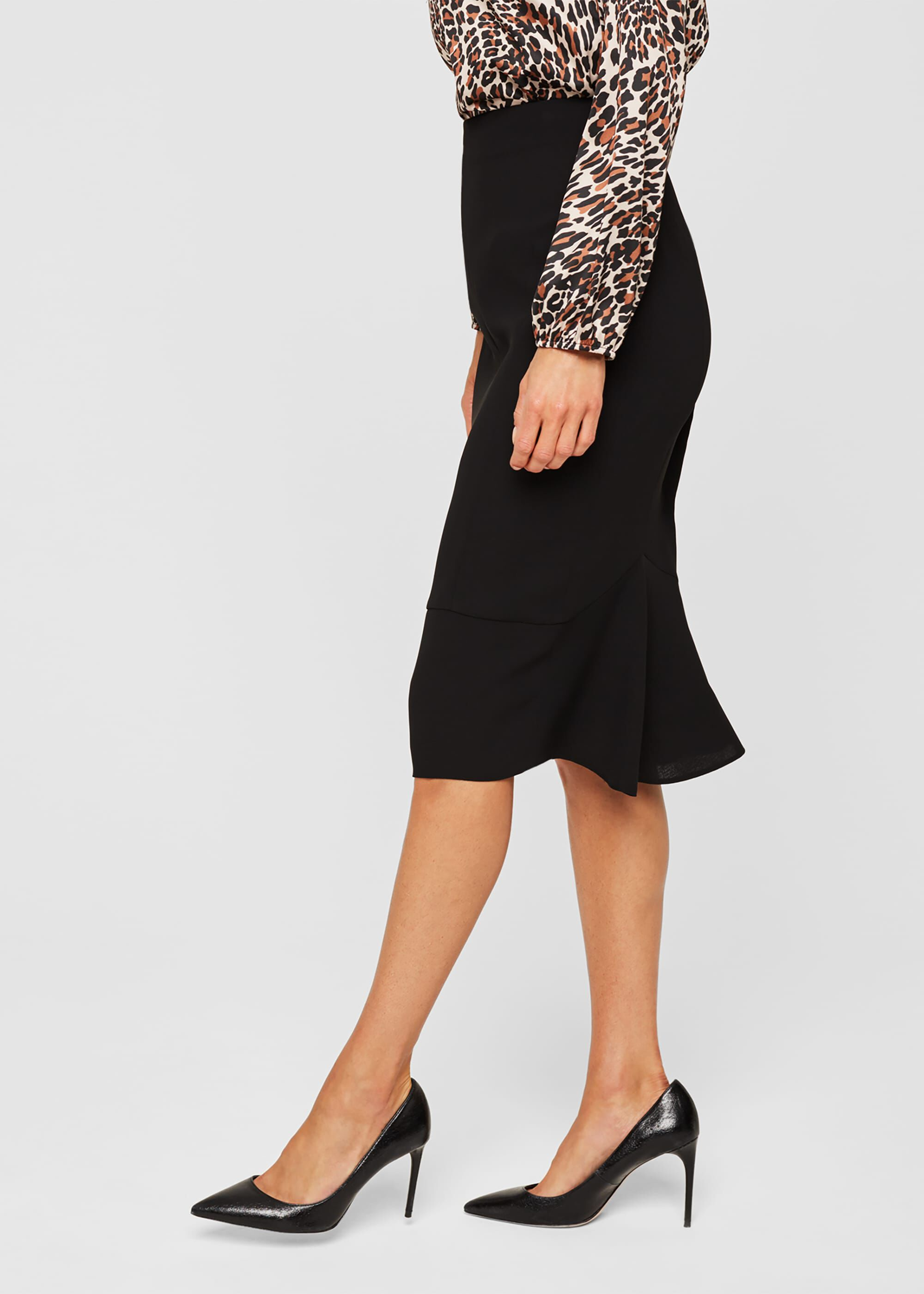 Damsel in a Dress Isabella City Suit Skirt, Black