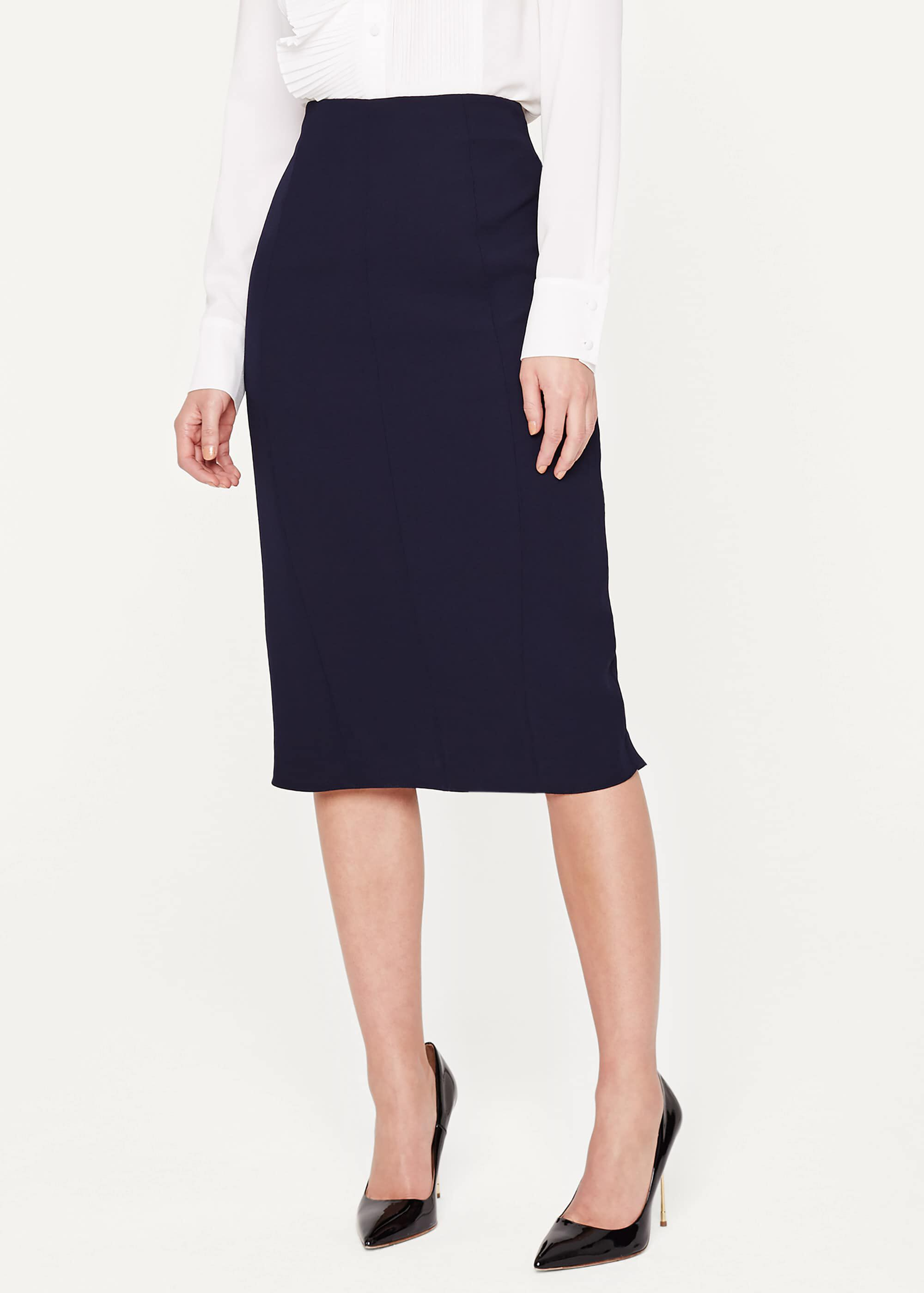 Damsel in a Dress Isabella City Suit Skirt, Blue