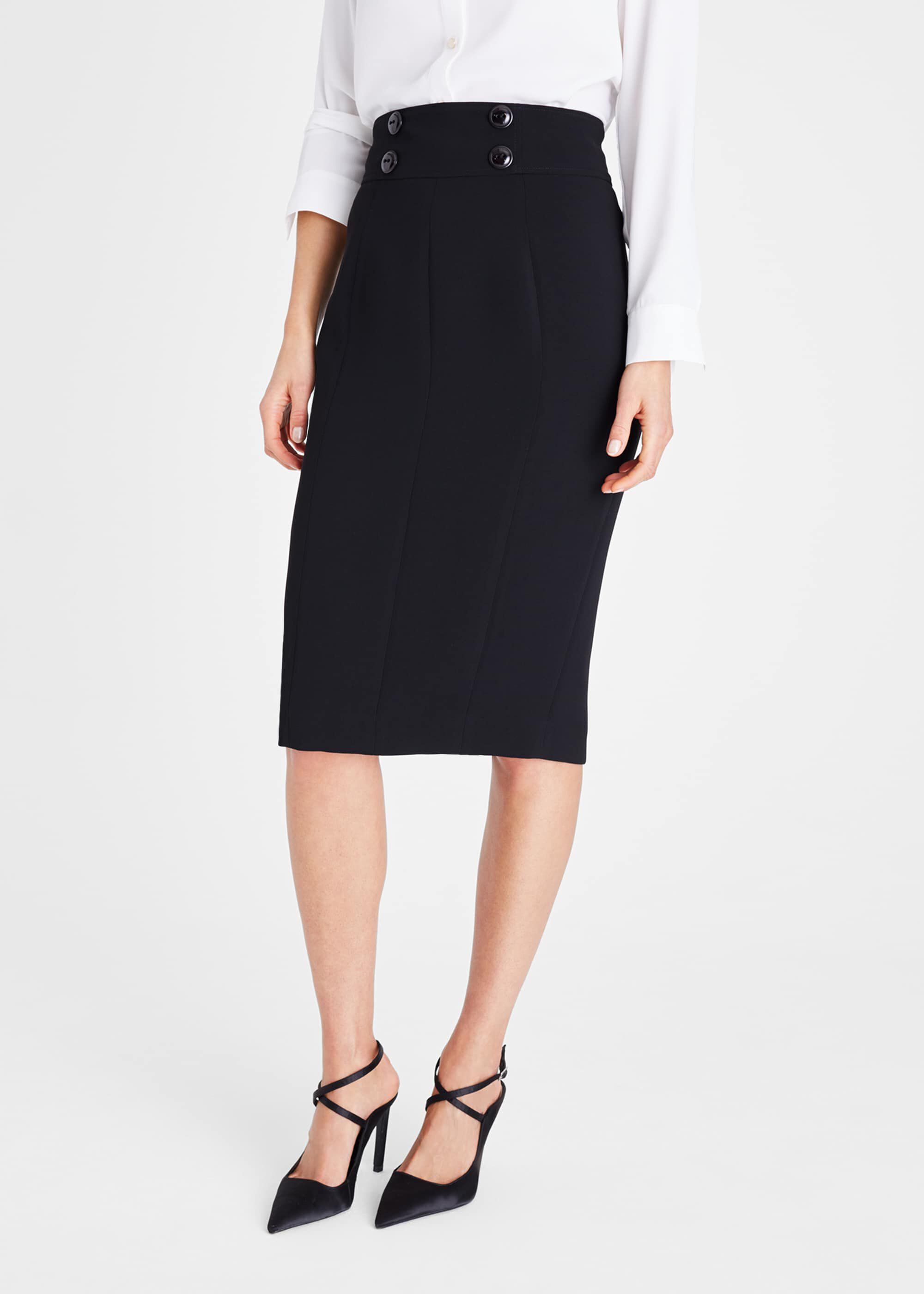 Damsel in a Dress Nina City Suit Skirt, Black