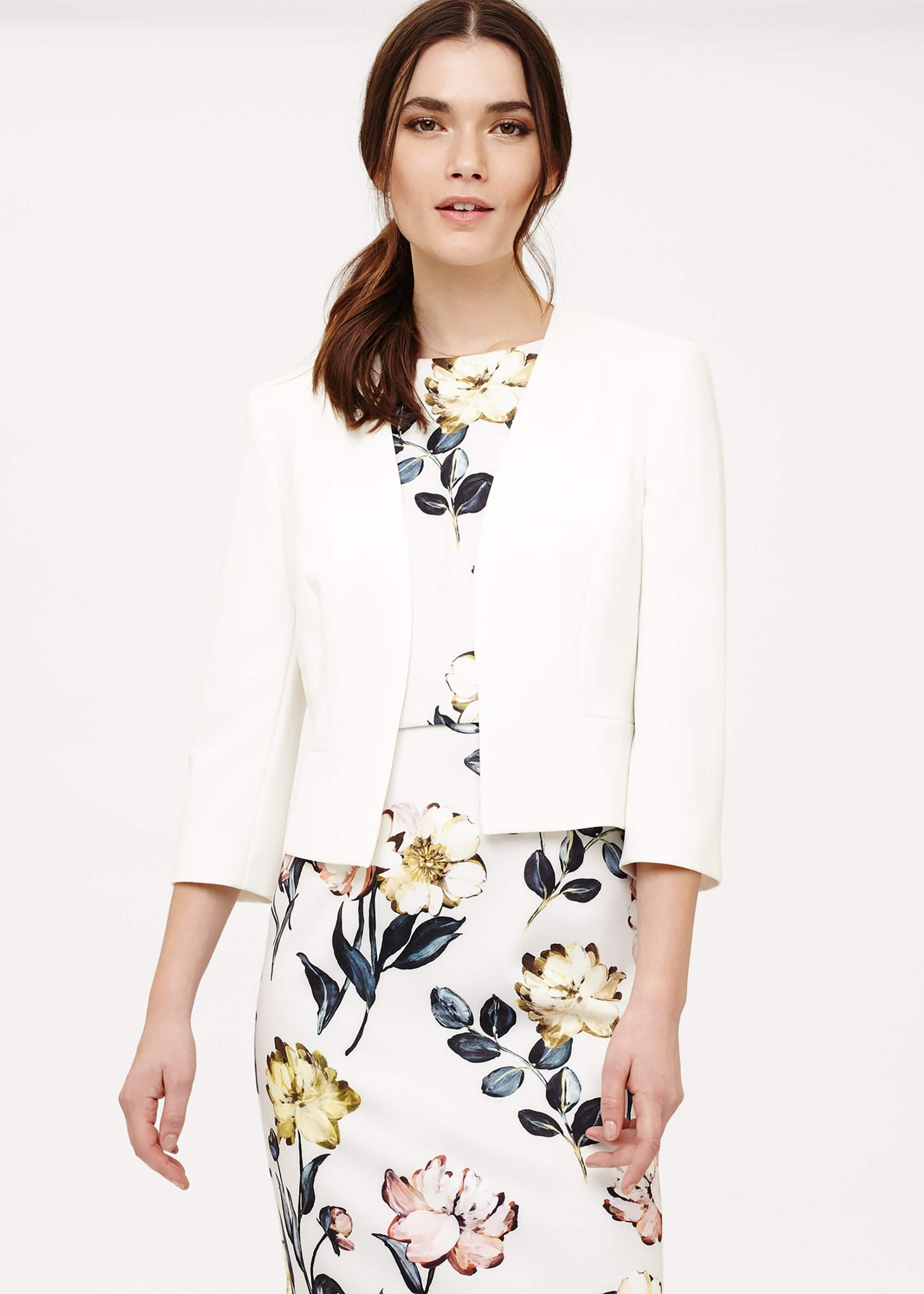 Phase Eight Tally Jacket, Cream
