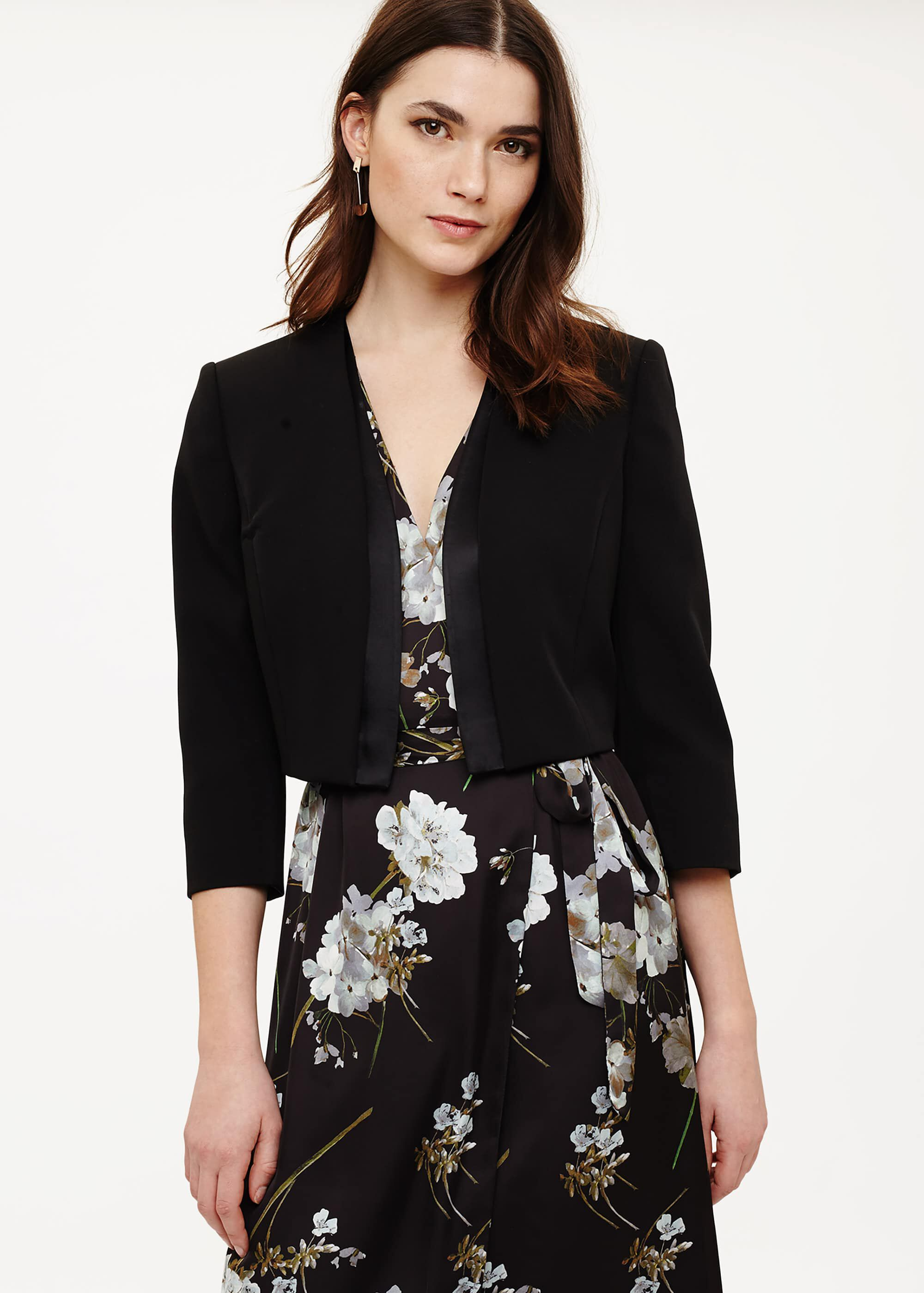 Phase Eight Suzanna Jacket, Black