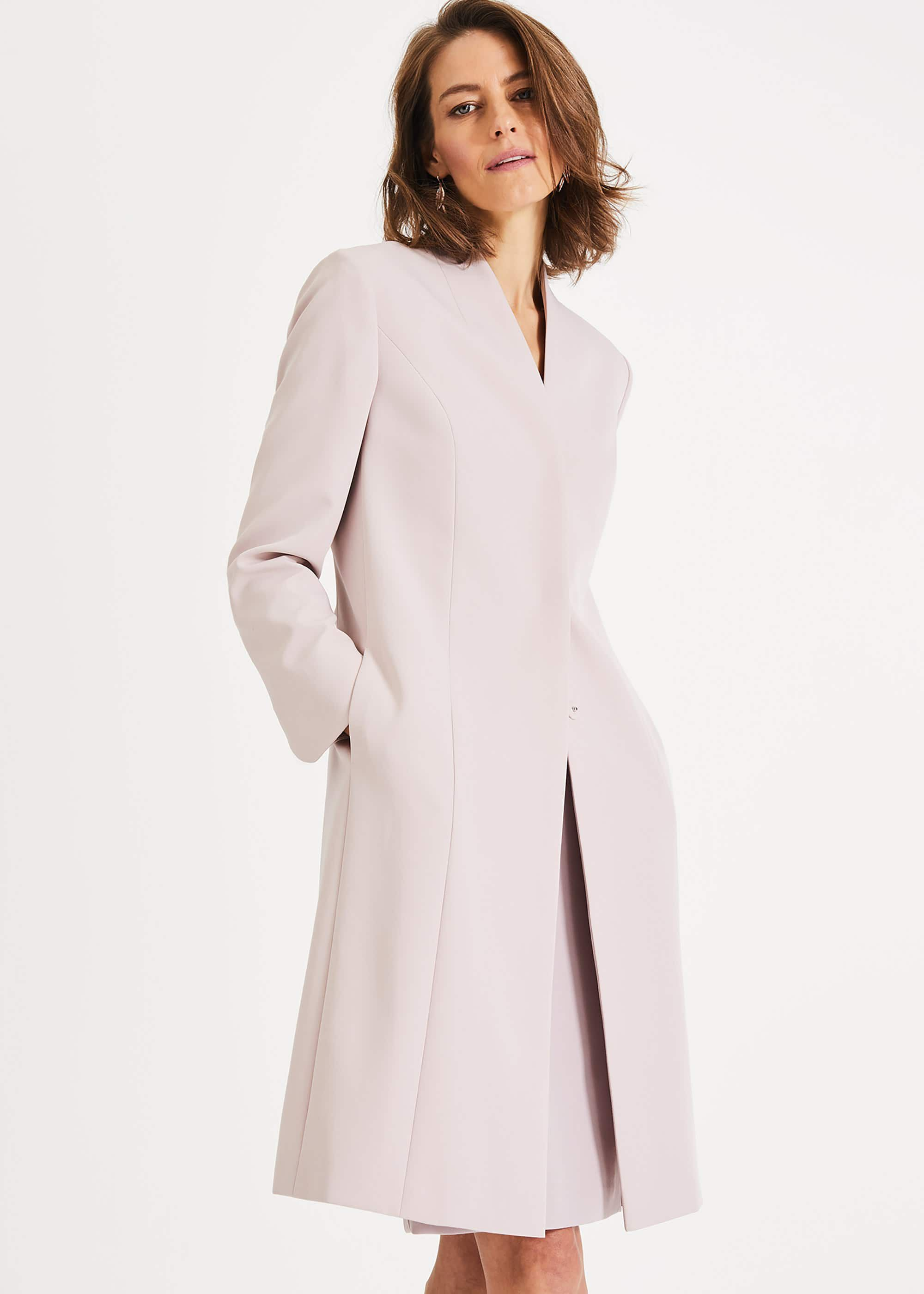 Phase Eight Constanza Coat, Pink