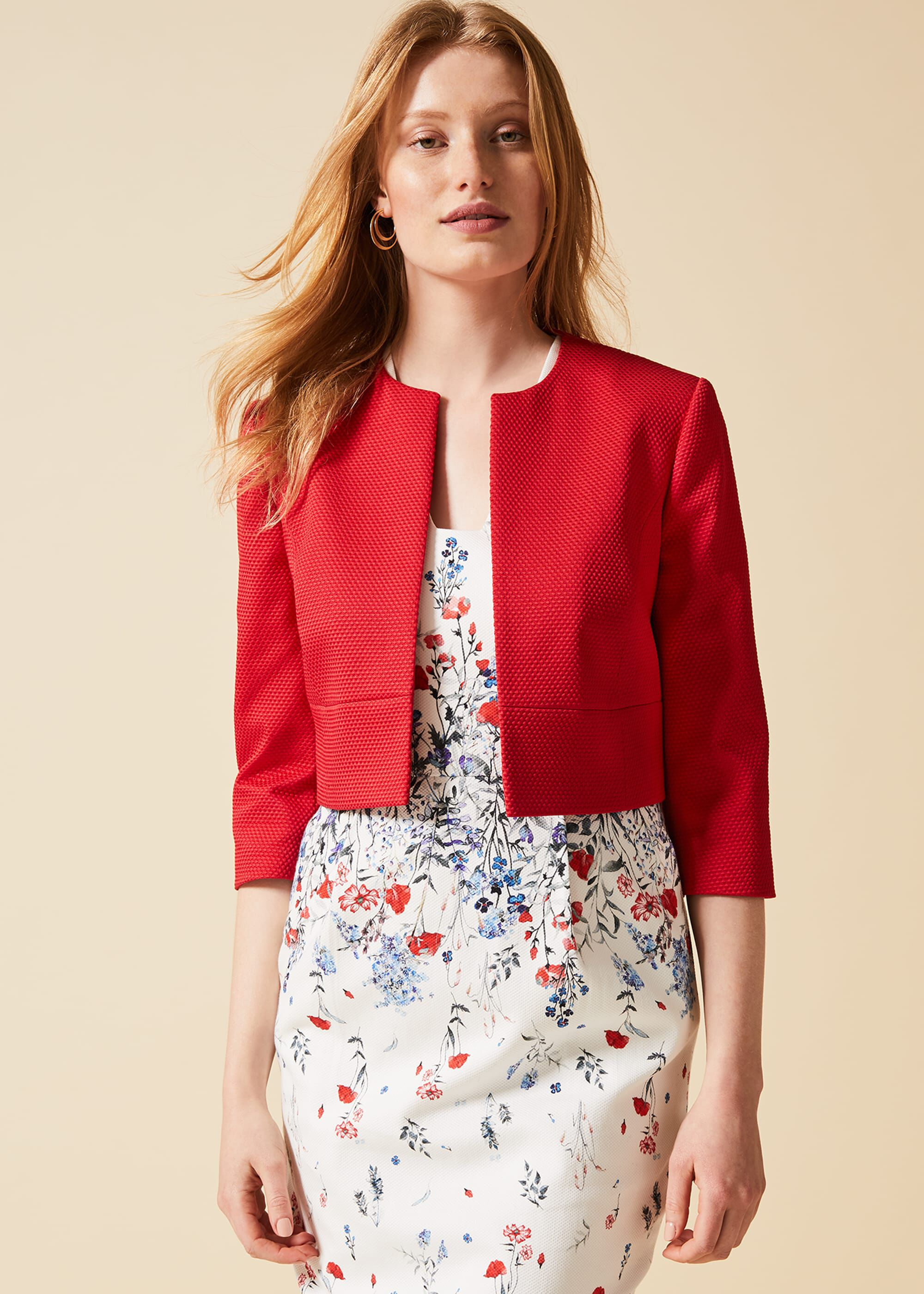Phase Eight Toni Jacket, Red