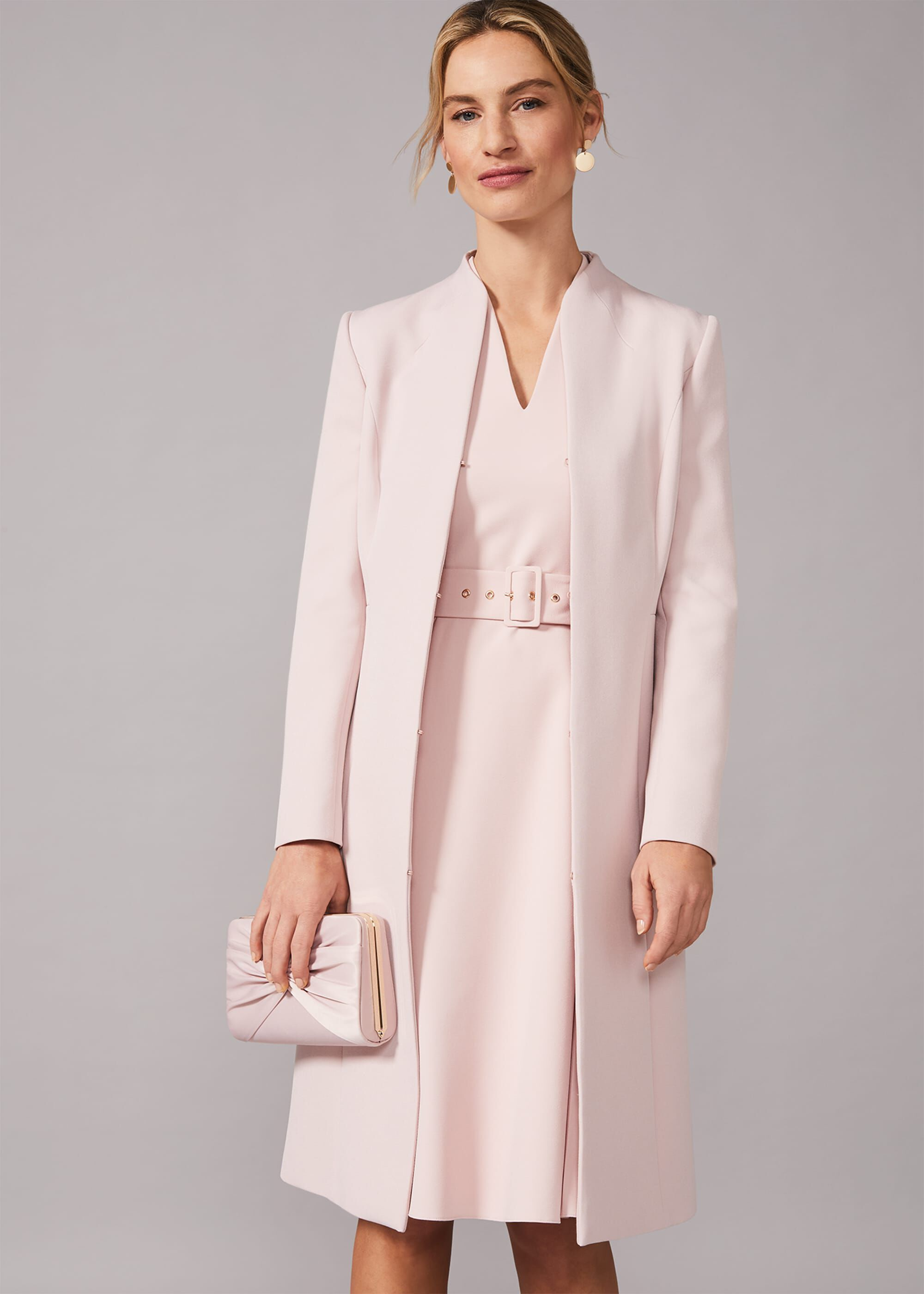 Phase Eight Myra Occasion Coat, Pink