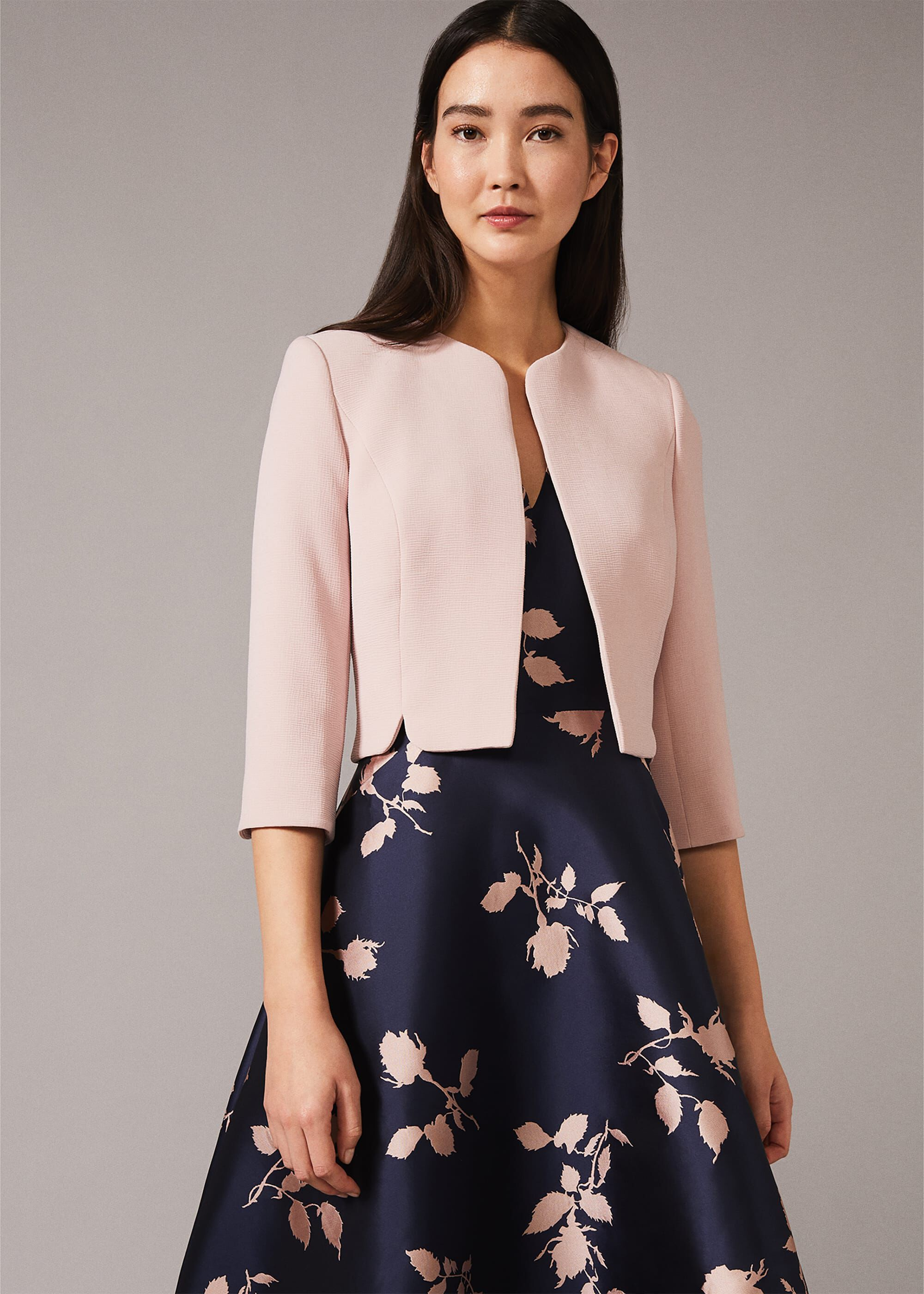 Phase Eight Devon Occasion Jacket, Pink