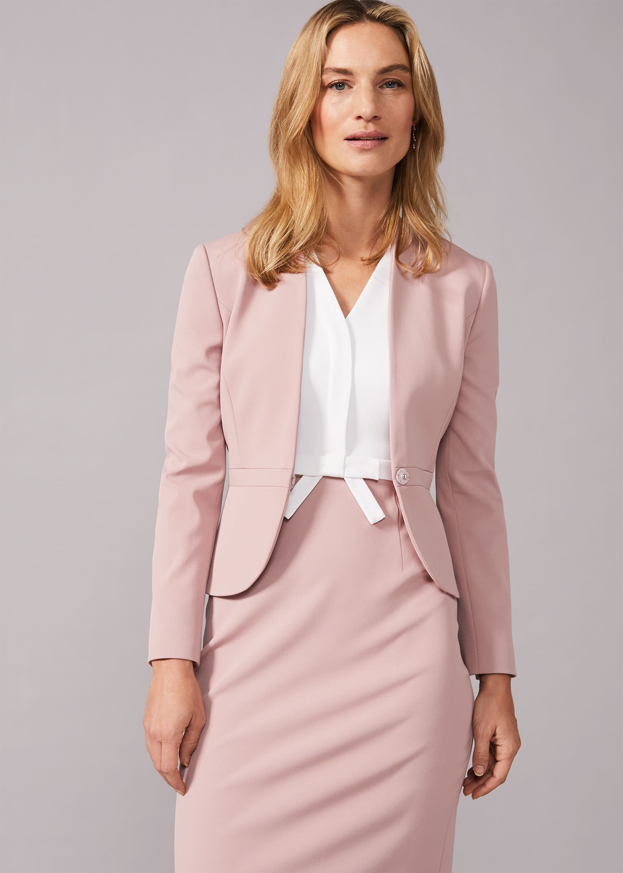 Phase Eight Loanne Occasion Jacket, Pink