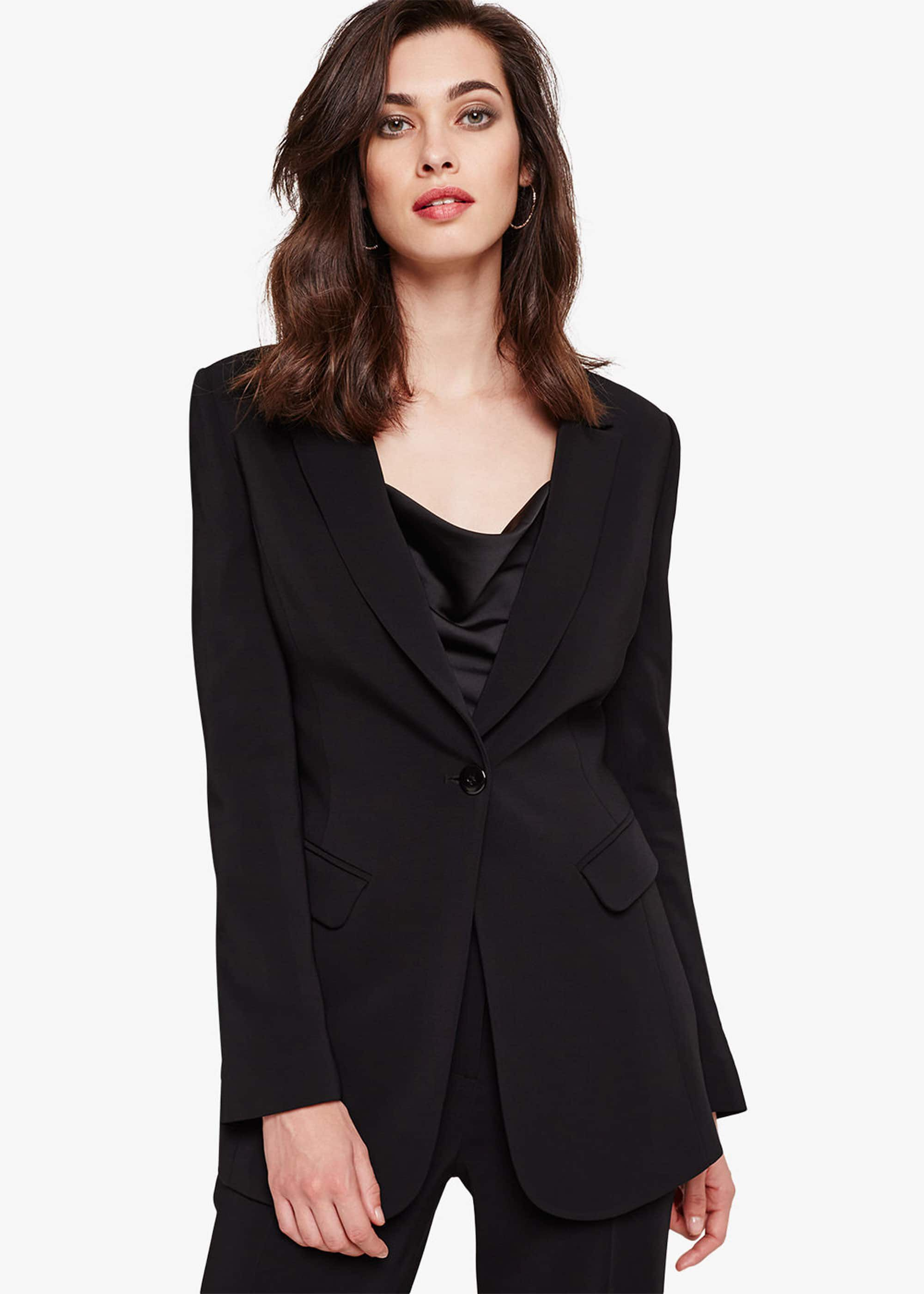 Damsel in a Dress Lelis Tux Jacket, Black
