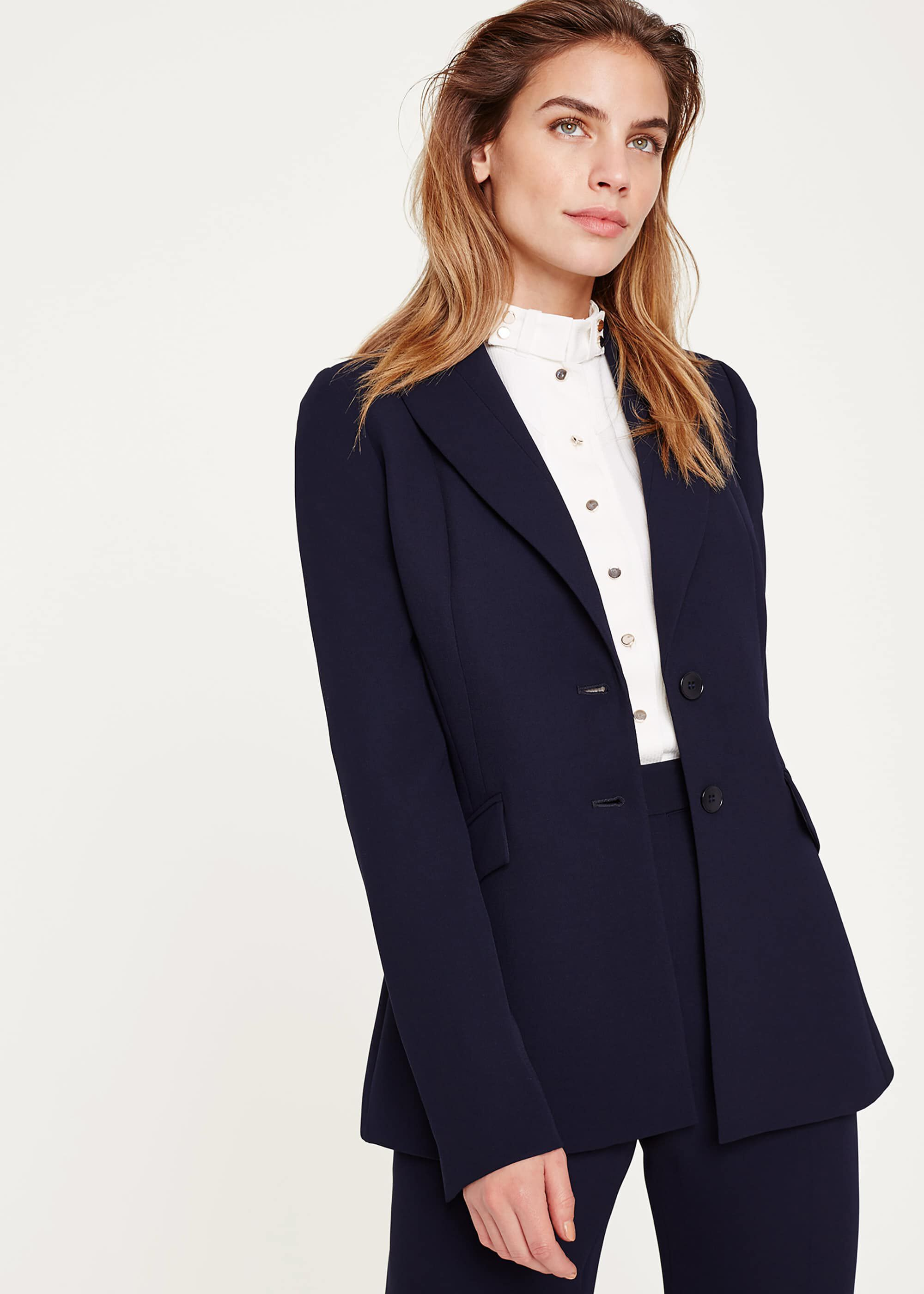 Damsel in a Dress Isabella City Suit Jacket, Blue
