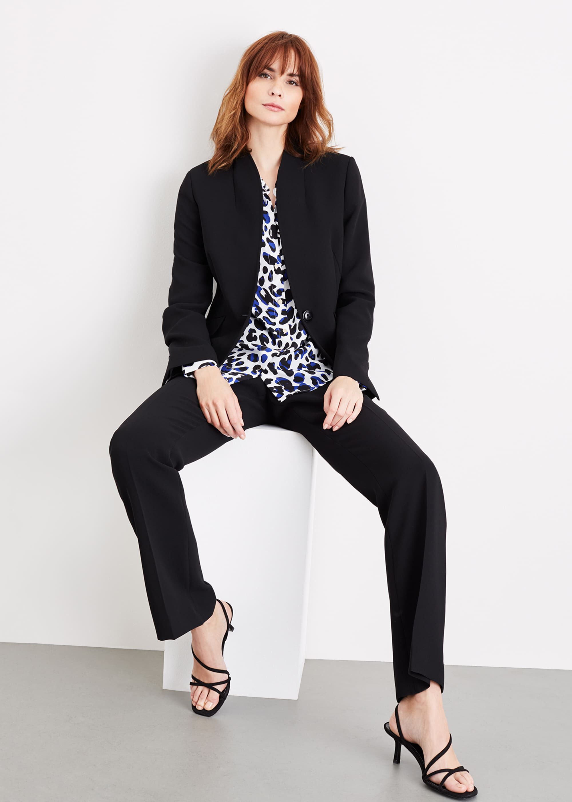 Damsel in a Dress Nina City Suit Jacket, Black
