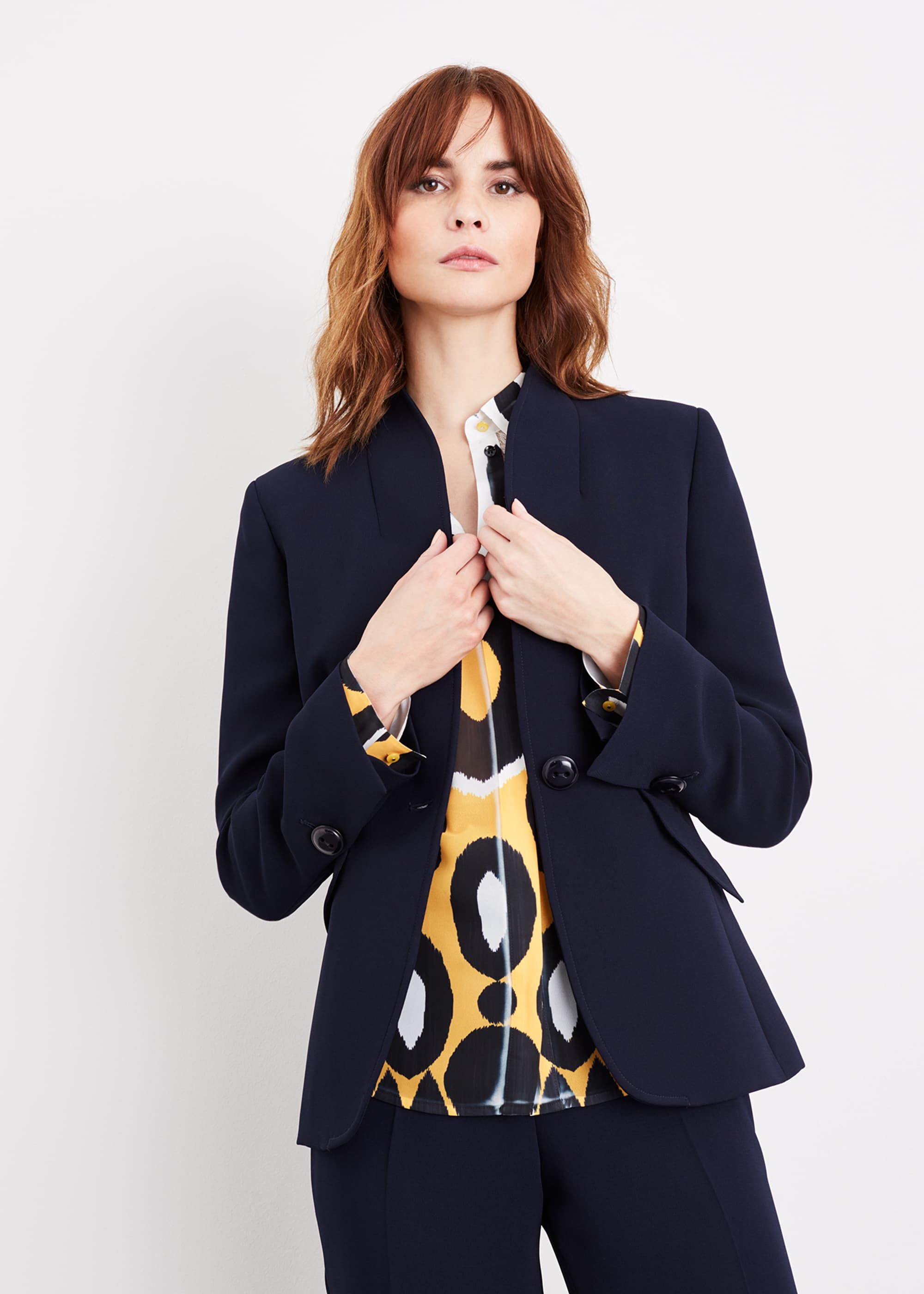 Damsel in a Dress Nina City Suit Jacket, Blue