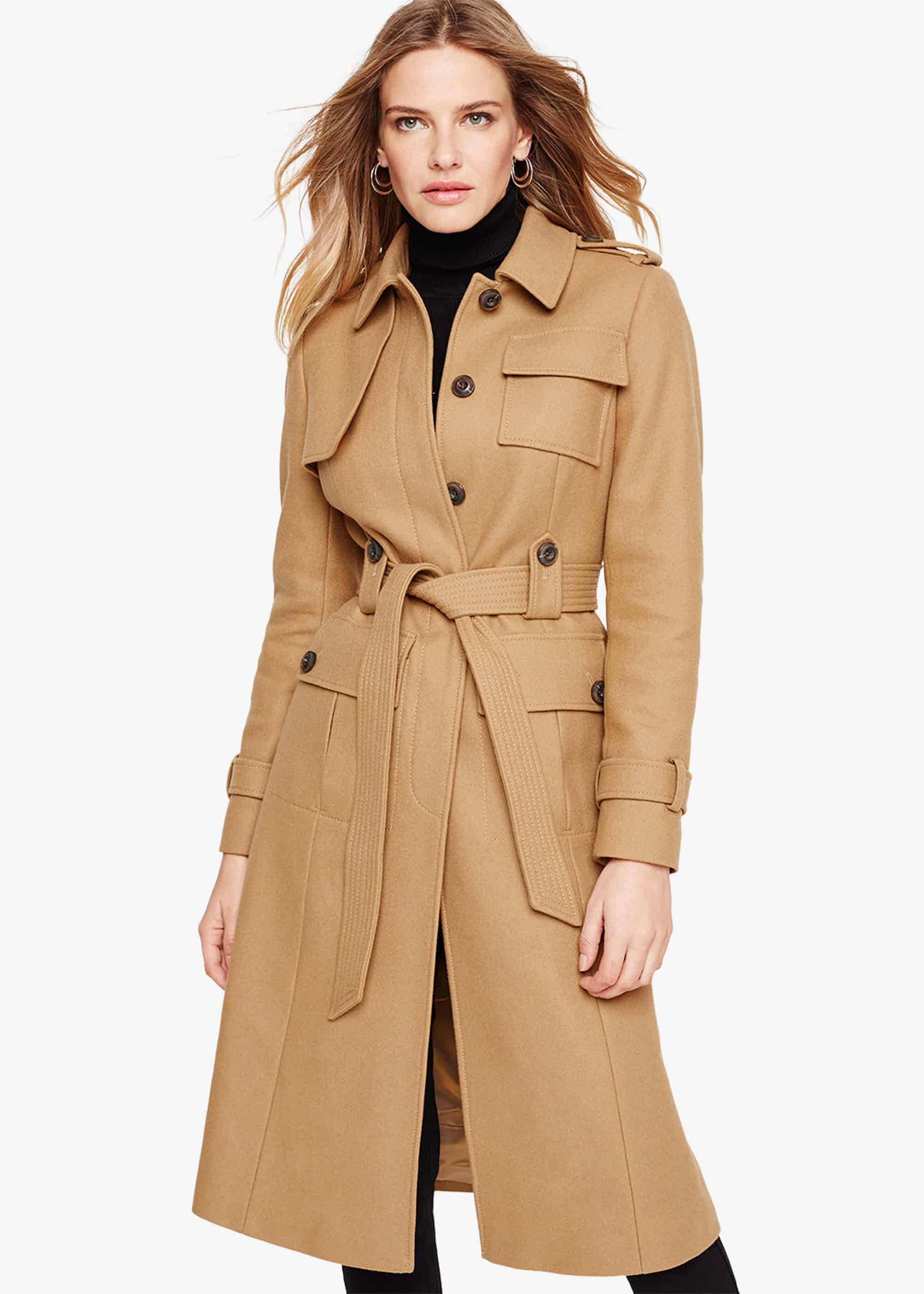 Damsel in a Dress Eleni Trench Belted Coat, Neutral