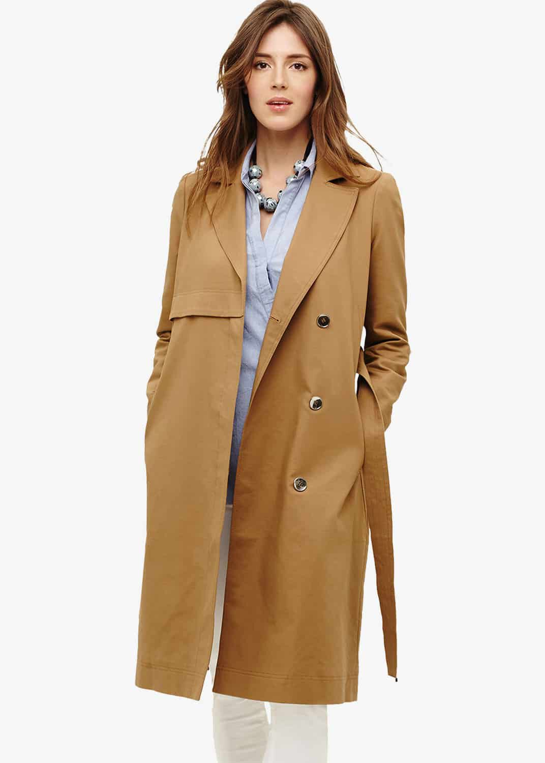 Phase Eight Tayte Belted Trench Coat, Neutral